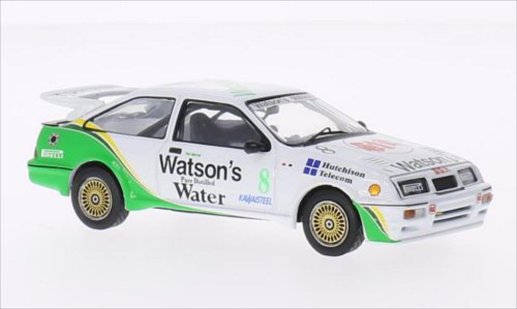 Ford Sierra 1/43 IXO 500 RHD No.8 Watsons Macau Guia Race 1989 miniature