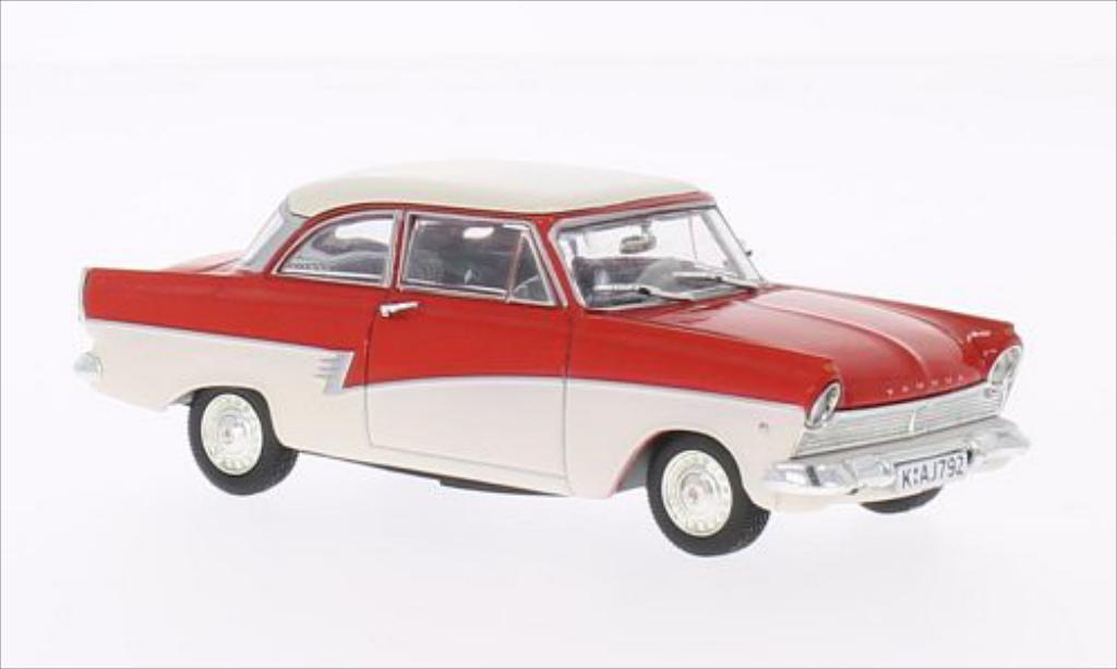 ford taunus 17m rot weiss mcw modellauto 1 43 kaufen verkauf modellauto online. Black Bedroom Furniture Sets. Home Design Ideas