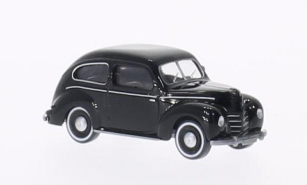 Ford Taunus 1/87 Wiking (G73A) noire miniature
