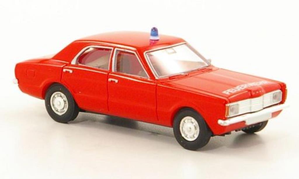 Ford Taunus 1/87 Brekina L Feuerwehr miniatura