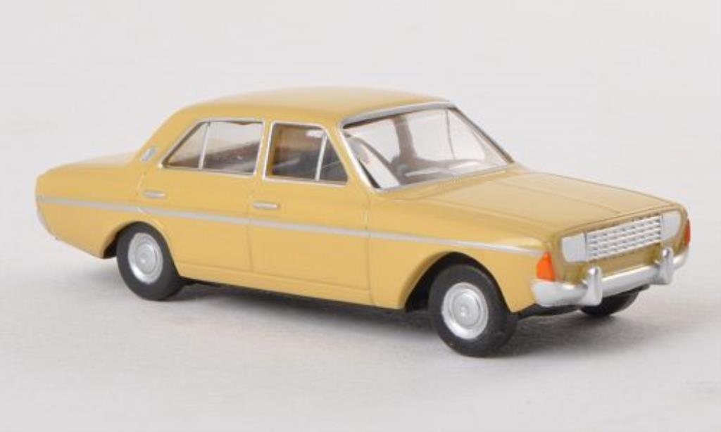 Ford Taunus 1/87 Herpa P5 beige miniature
