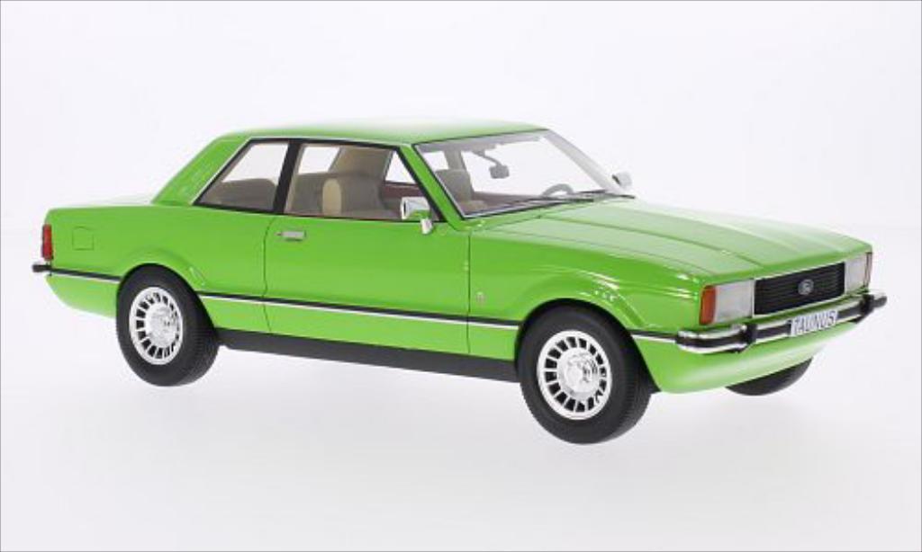 ford taunus tc2 ghia grun 1976 mcw modellauto 1 18 kaufen verkauf modellauto online. Black Bedroom Furniture Sets. Home Design Ideas
