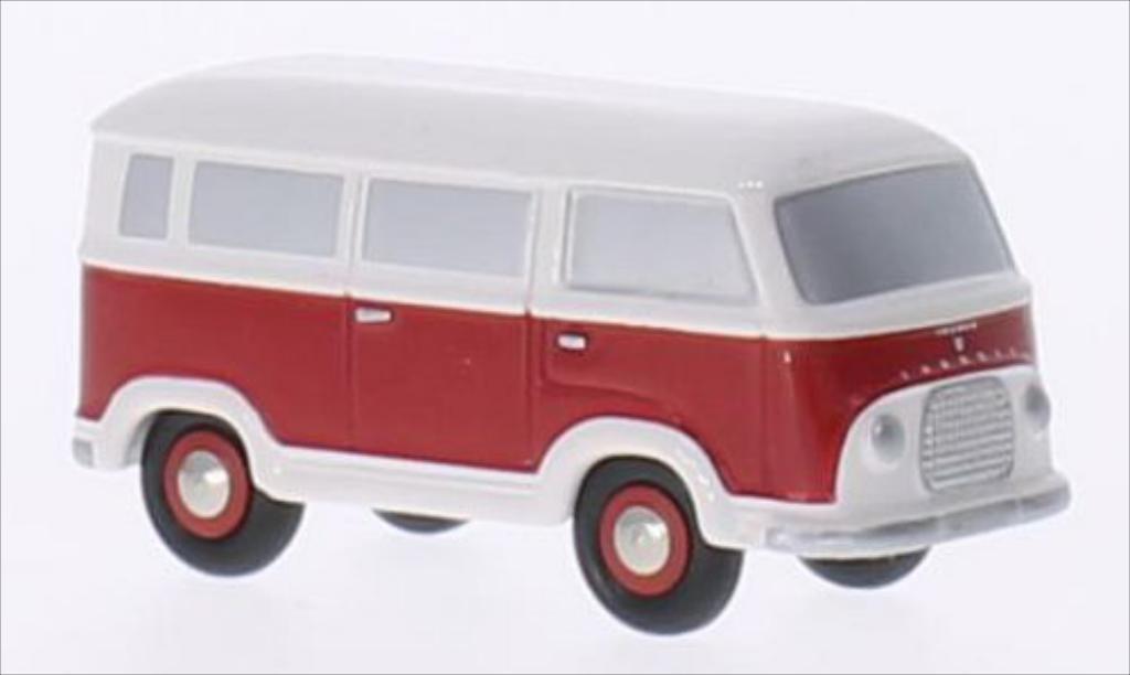 Ford Taunus 1/90 Schuco Transit FK 1000 rot/weiss modellautos