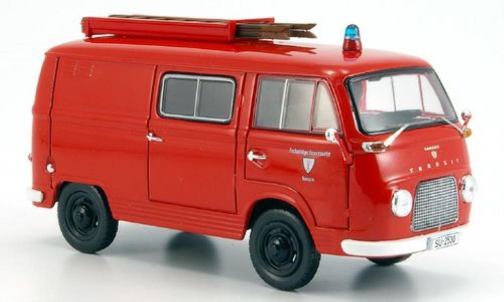 ford taunus transit fk1250 feuerwehr 1964 norev modellauto 1 43 kaufen verkauf modellauto. Black Bedroom Furniture Sets. Home Design Ideas