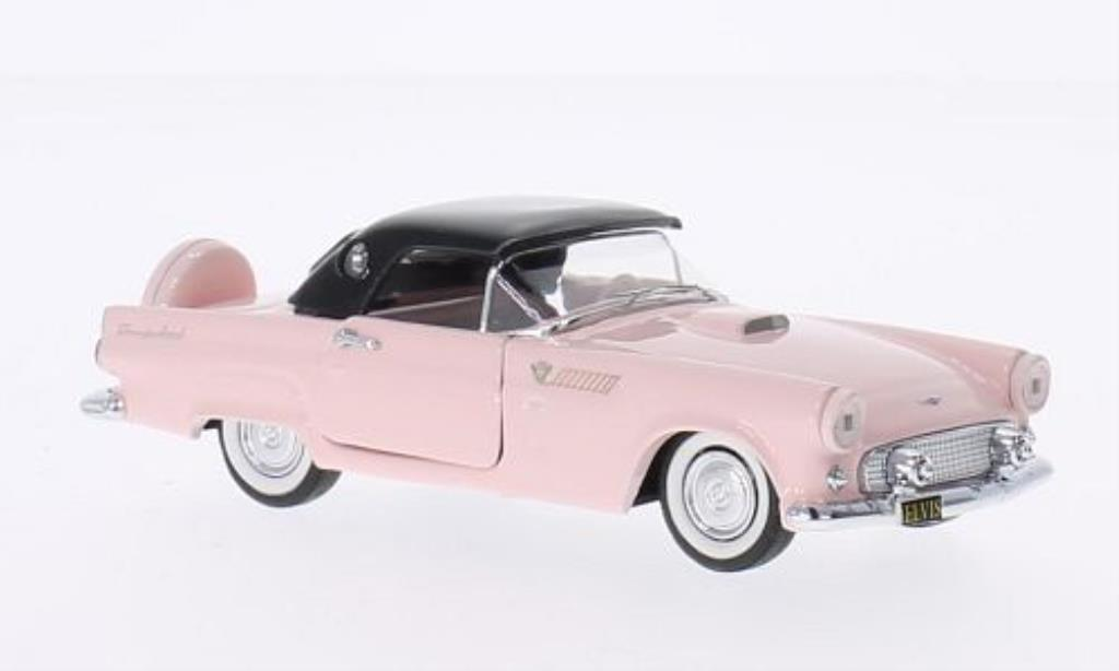Ford Thunderbird 1/43 Rio pink/noire Elvis Presley Personal Car 1956 miniature