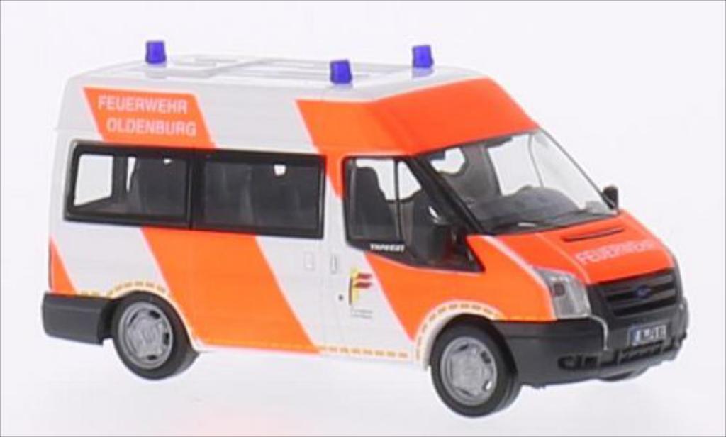 Miniature Ford Transit 06 Bus Feuerwehr Oldenburg Rietze. Ford Transit 06 Bus Feuerwehr Oldenburg miniature 1/87