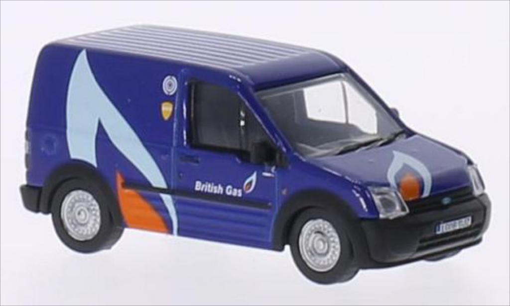 Ford Transit 1/76 Oxford Connect RHD British Gas miniature