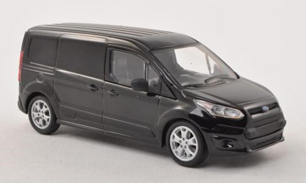 Ford Transit 1/43 Greenlight Connect noire 2014 miniature