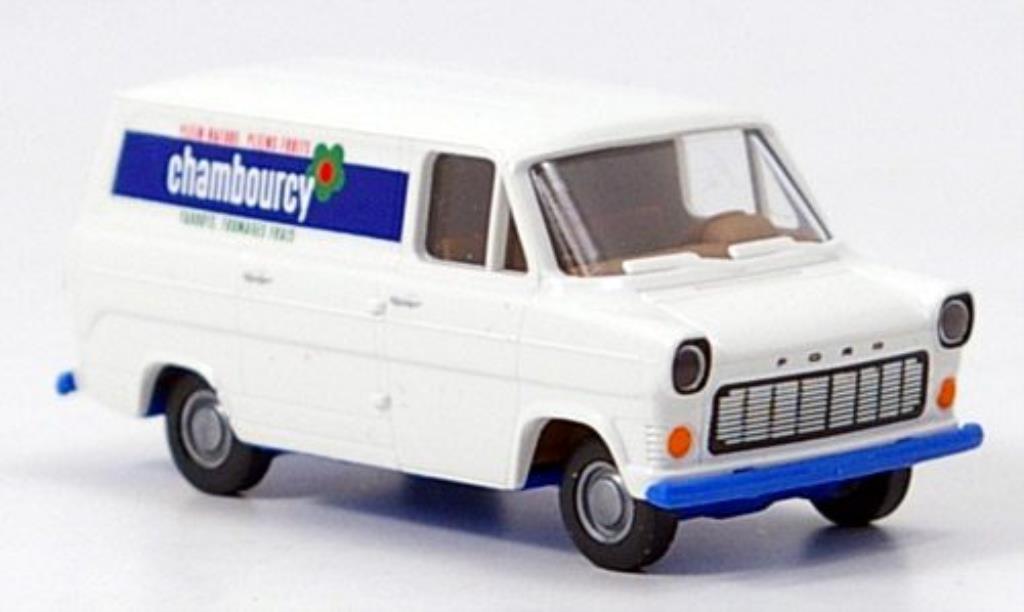 Ford Transit 1/87 Brekina IIb Kasten Chambourcy miniature