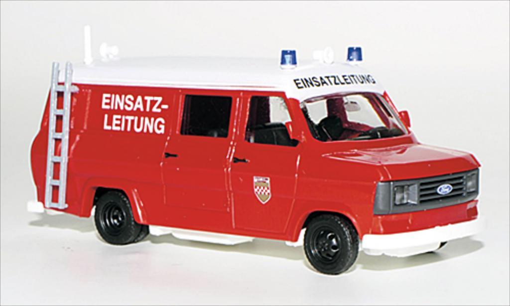 Ford Transit 1/87 Busch Kombi Feuerwehr Hamm 1965