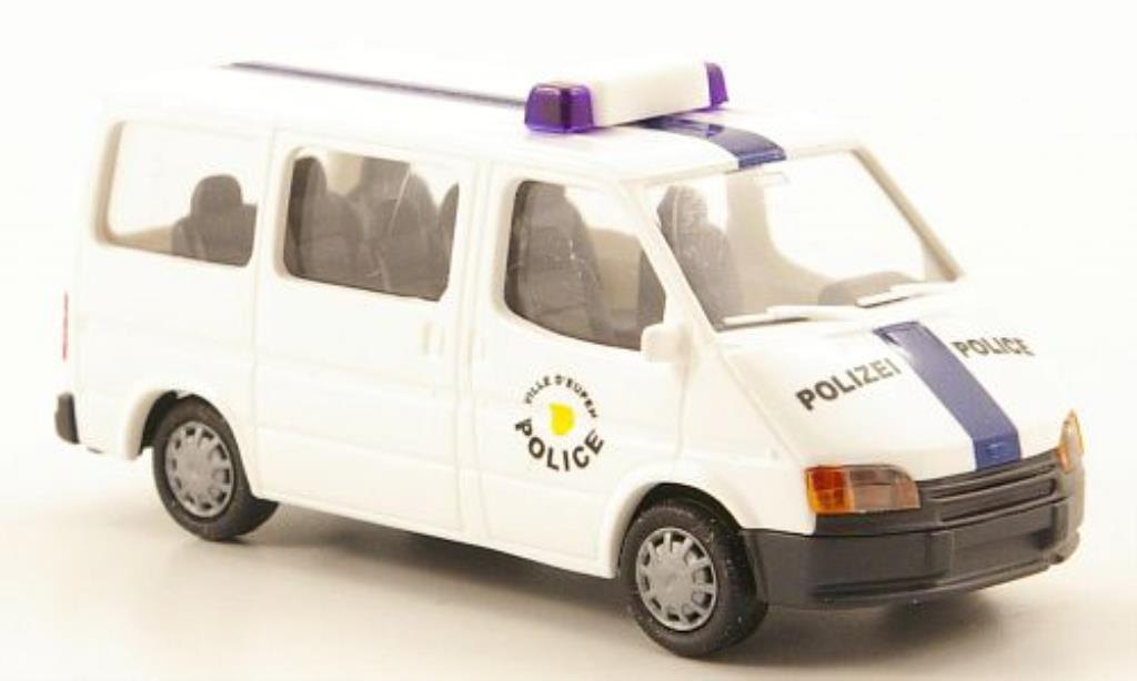 Ford Transit 1/87 Rietze MkIV Bus Ville DEupen Police (SM-B) miniature
