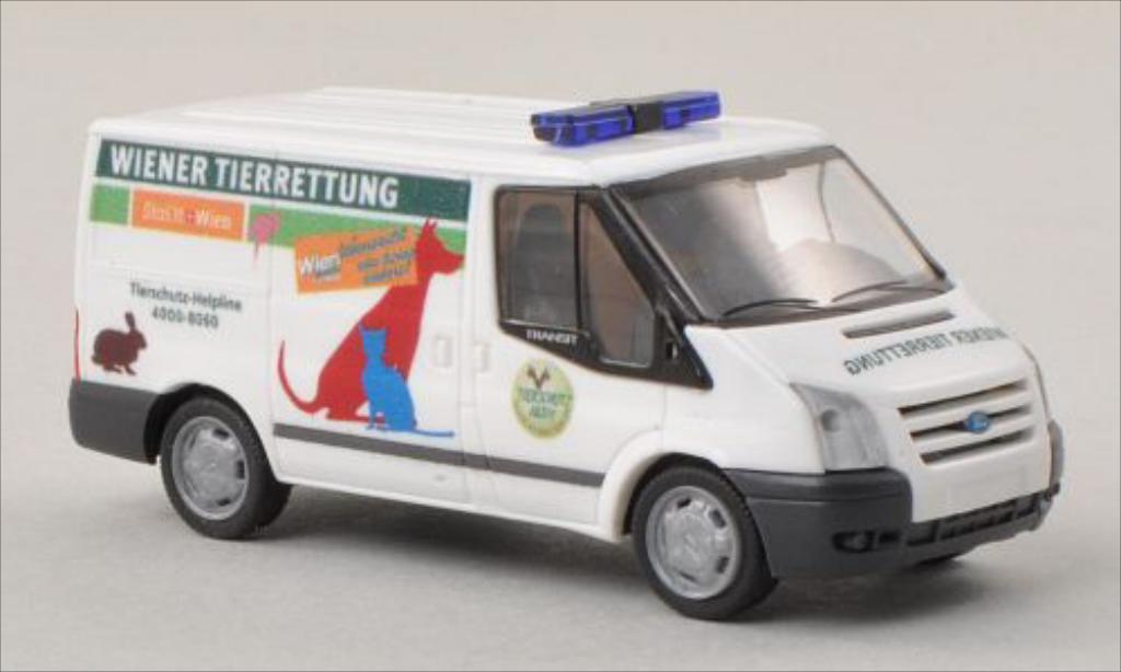 Miniature Ford Transit Wiener Tierrettung (A) 2006 Rietze. Ford Transit Wiener Tierrettung (A) 2006 miniature 1/87