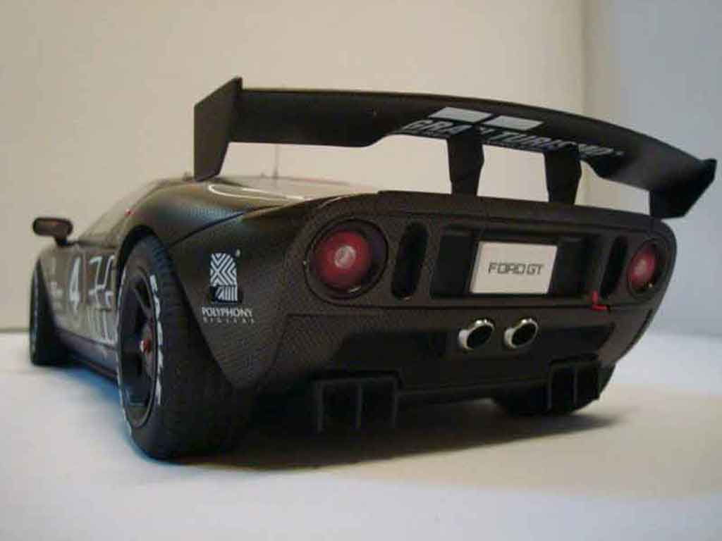 Ford GT 1/18 Autoart millennium 2005 test car #4 carbon