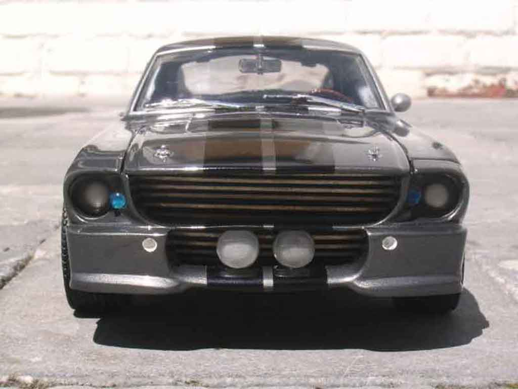 Shelby GT 500 1/18 Shelby Collectibles eleanor replique tuning miniature
