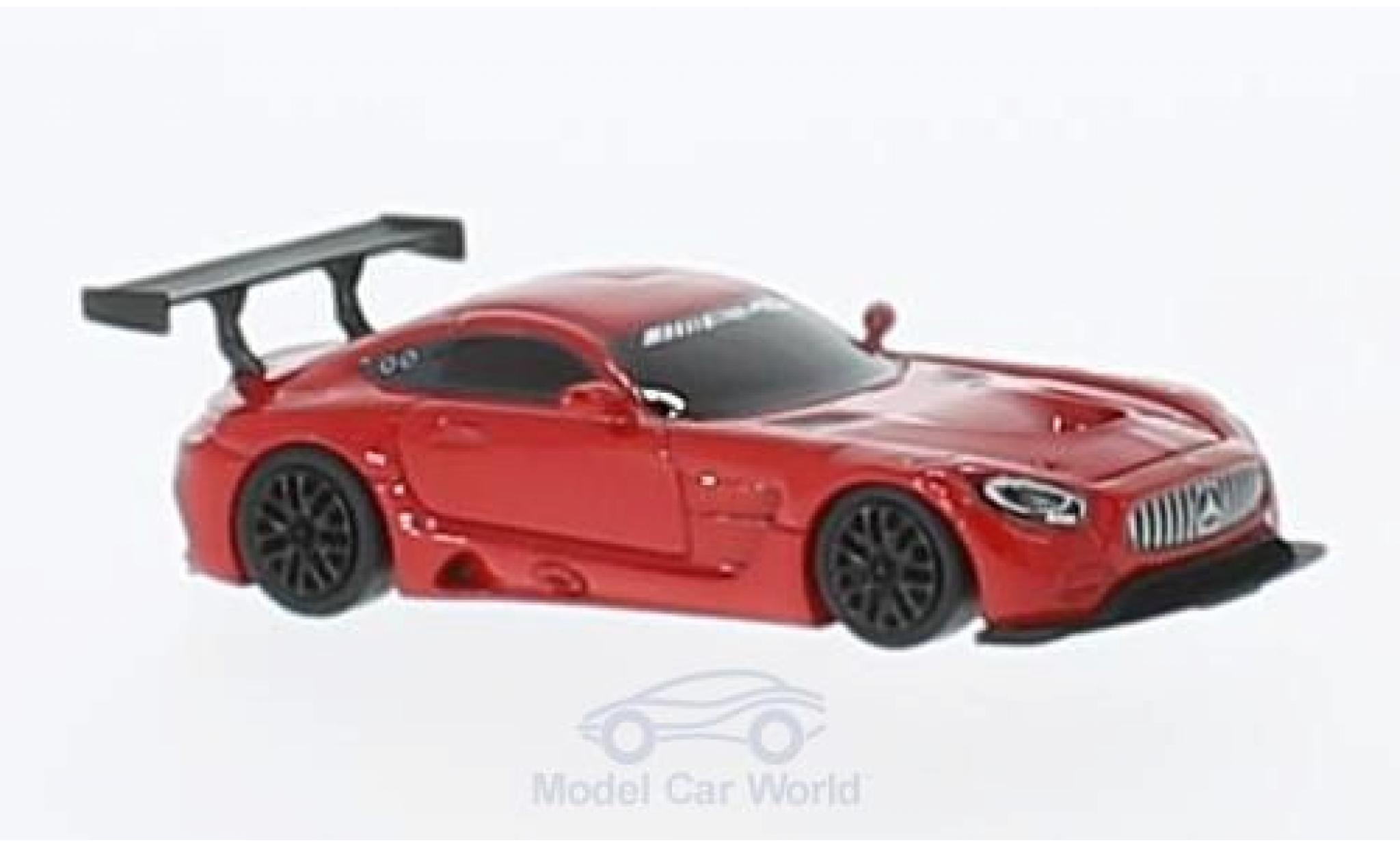 Mercedes AMG GT 1/87 FrontiArt 3 red