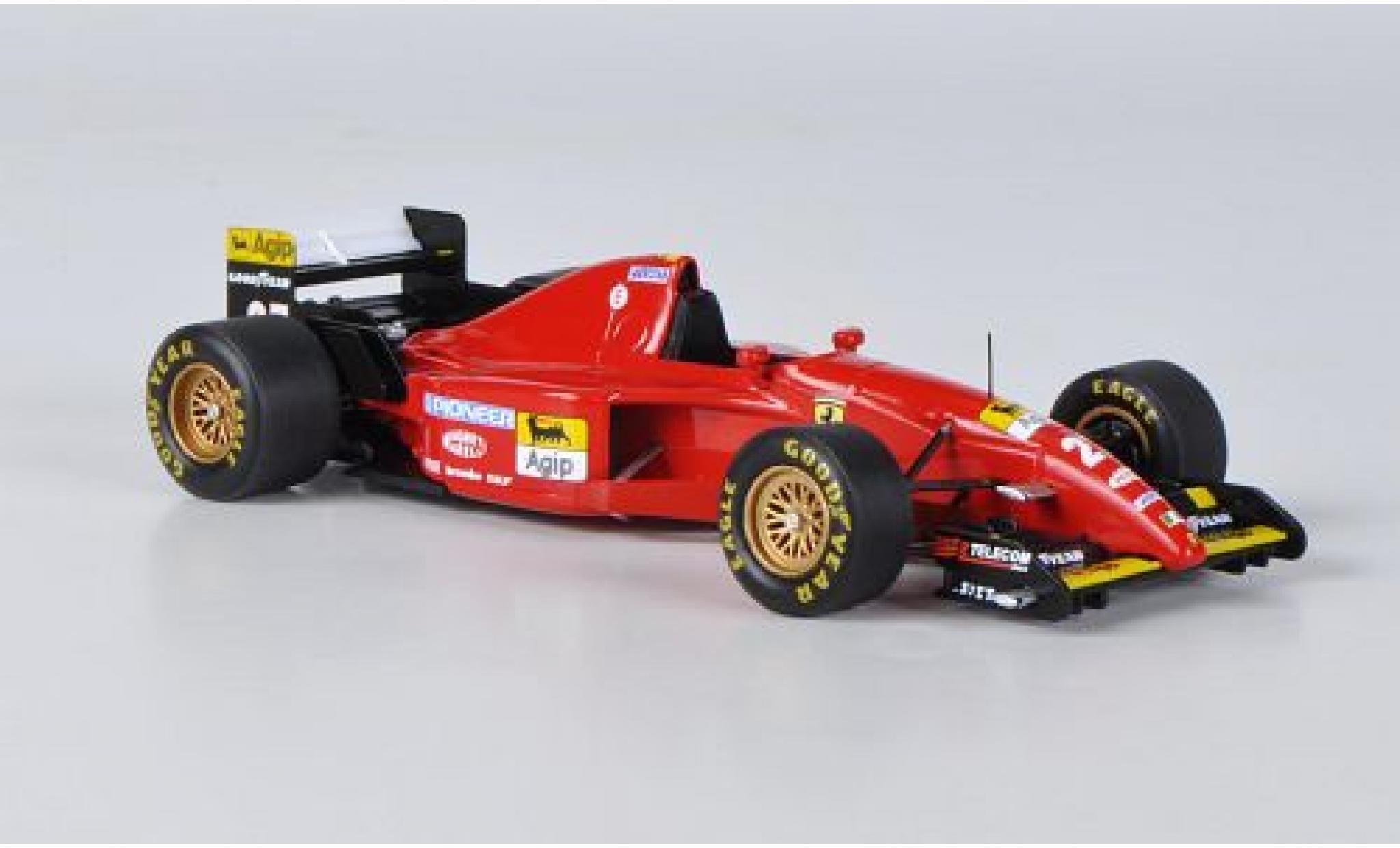 Ferrari 412 1/43 Fujimi T2 No.27 GP Canada 1995 J.Alesi
