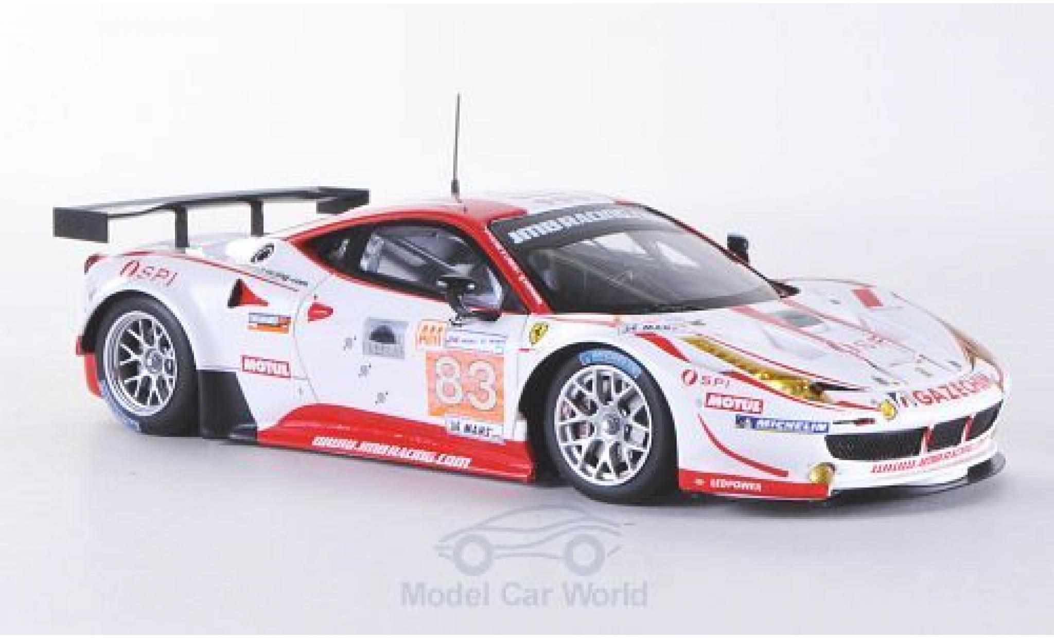 Ferrari 458 Italia GT2 1/43 Fujimi No.83 JMB Racing 24h Le Mans 2012