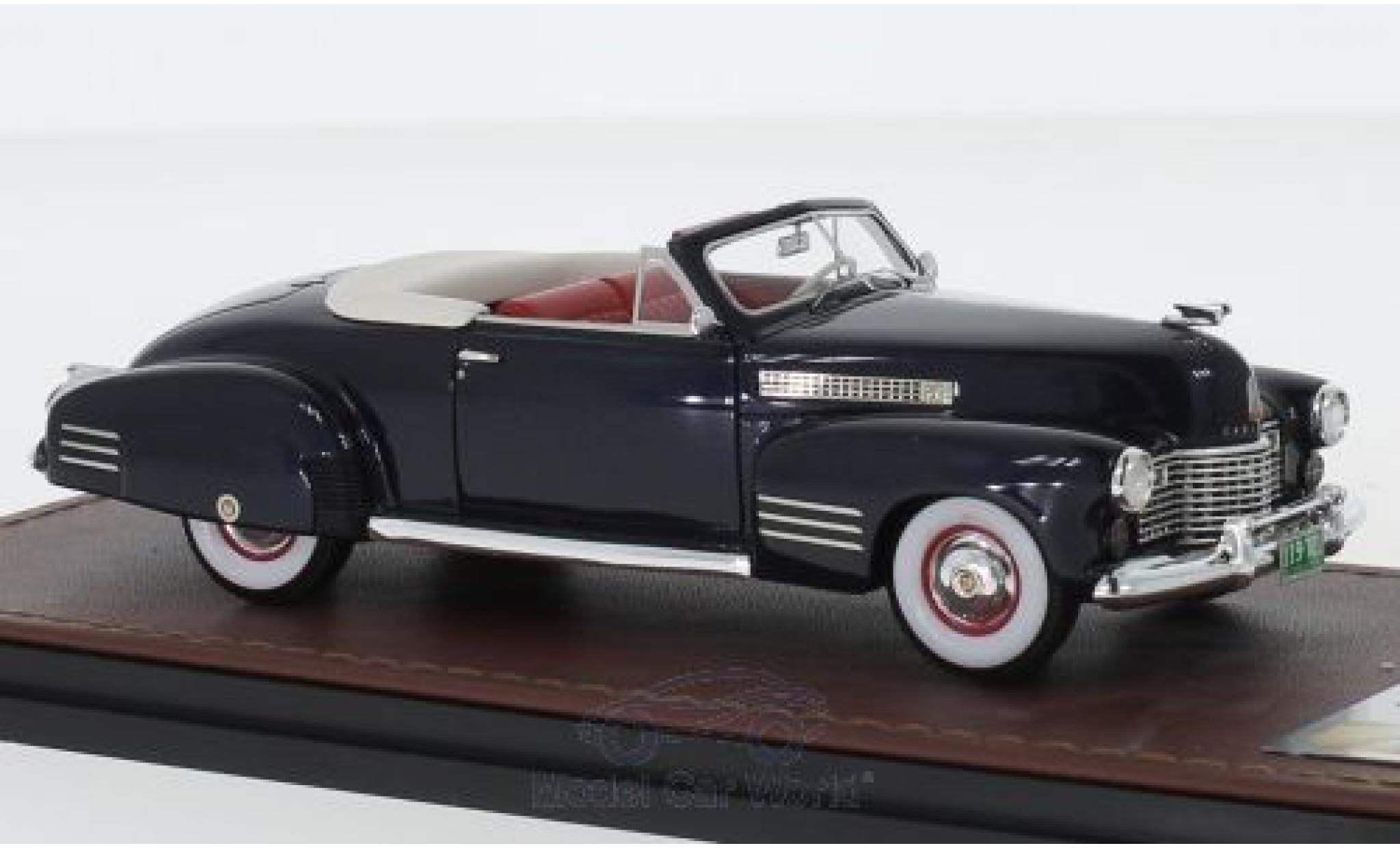 Cadillac Series 62 1/43 GLM Convertible Coupe metallise bleue 1941