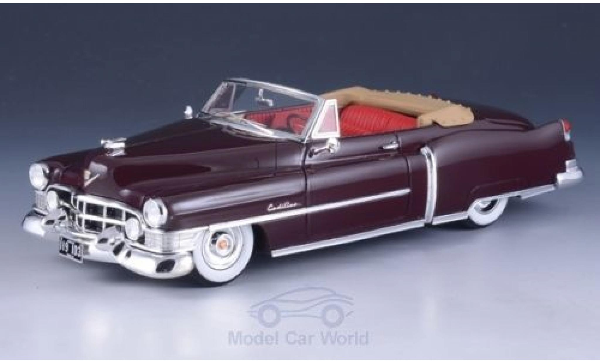 Cadillac Series 62 1/43 GLM Convertible marron 1951
