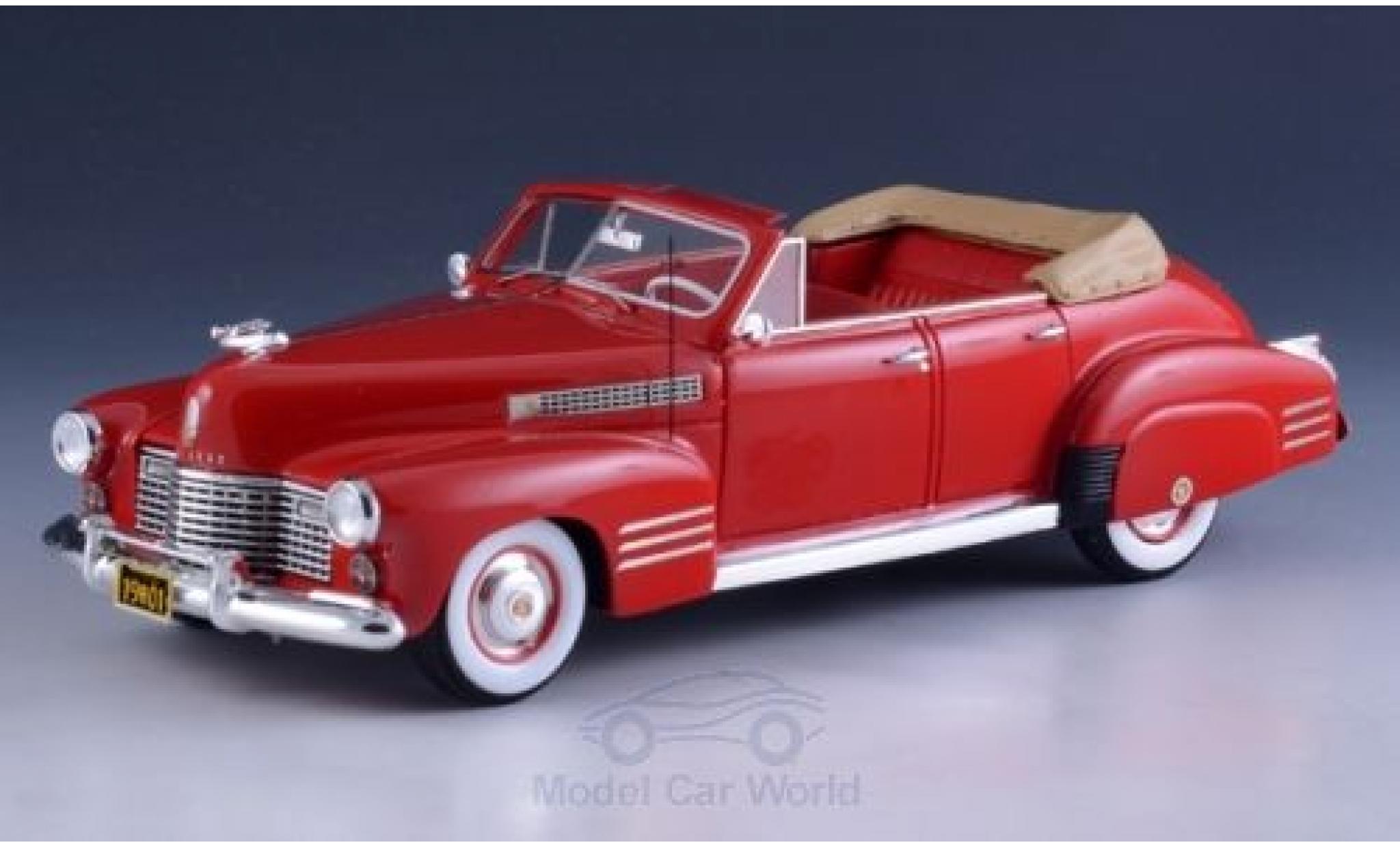 Cadillac Series 62 1/43 GLM Convertible Sedan rouge 1941