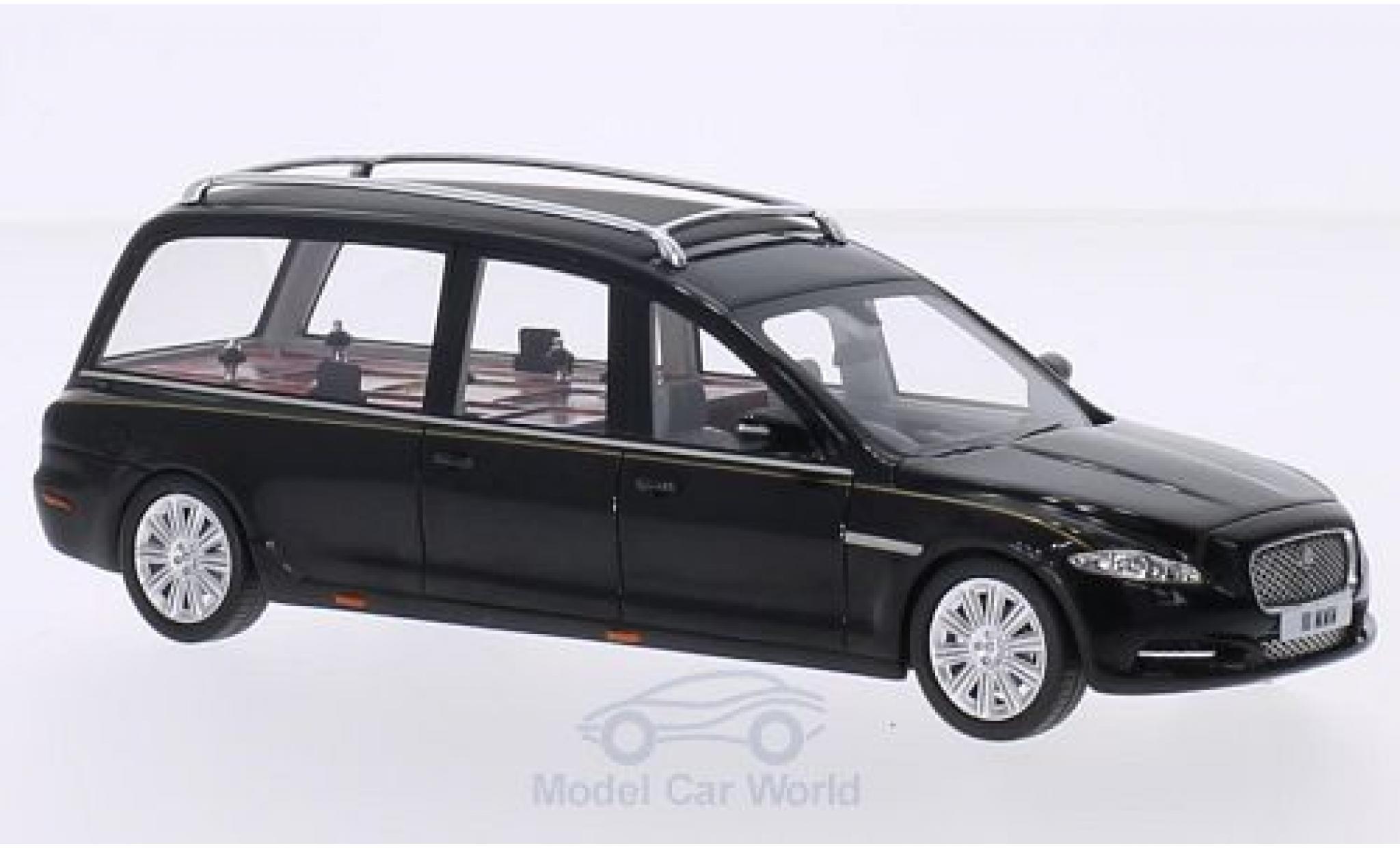 Jaguar XJ 1/43 GLM (X351) Hearse Wilcox black 2013
