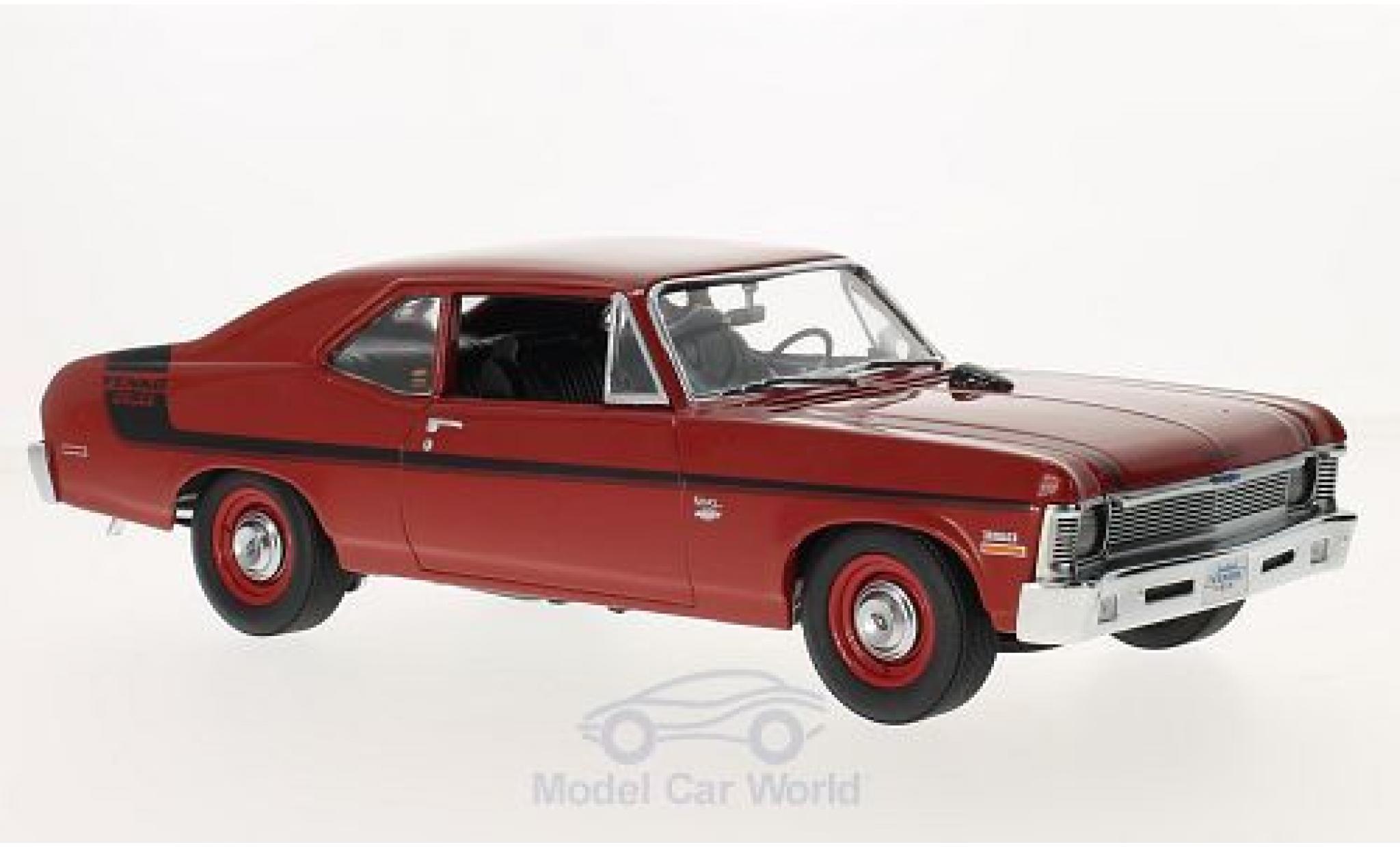 Chevrolet Nova 1970 1/18 GMP rouge/Dekor Yenko Deuce 1970