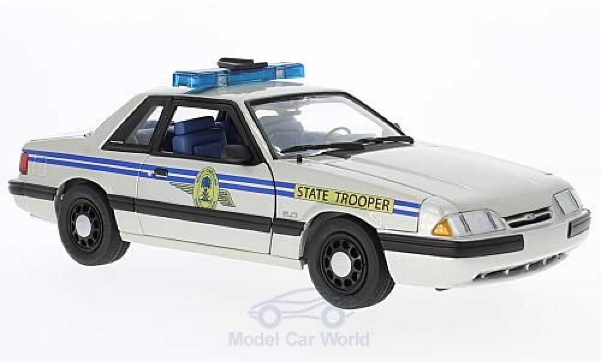 Ford Mustang 1/18 GMP South Carolina Highway Patrol SSP 1991