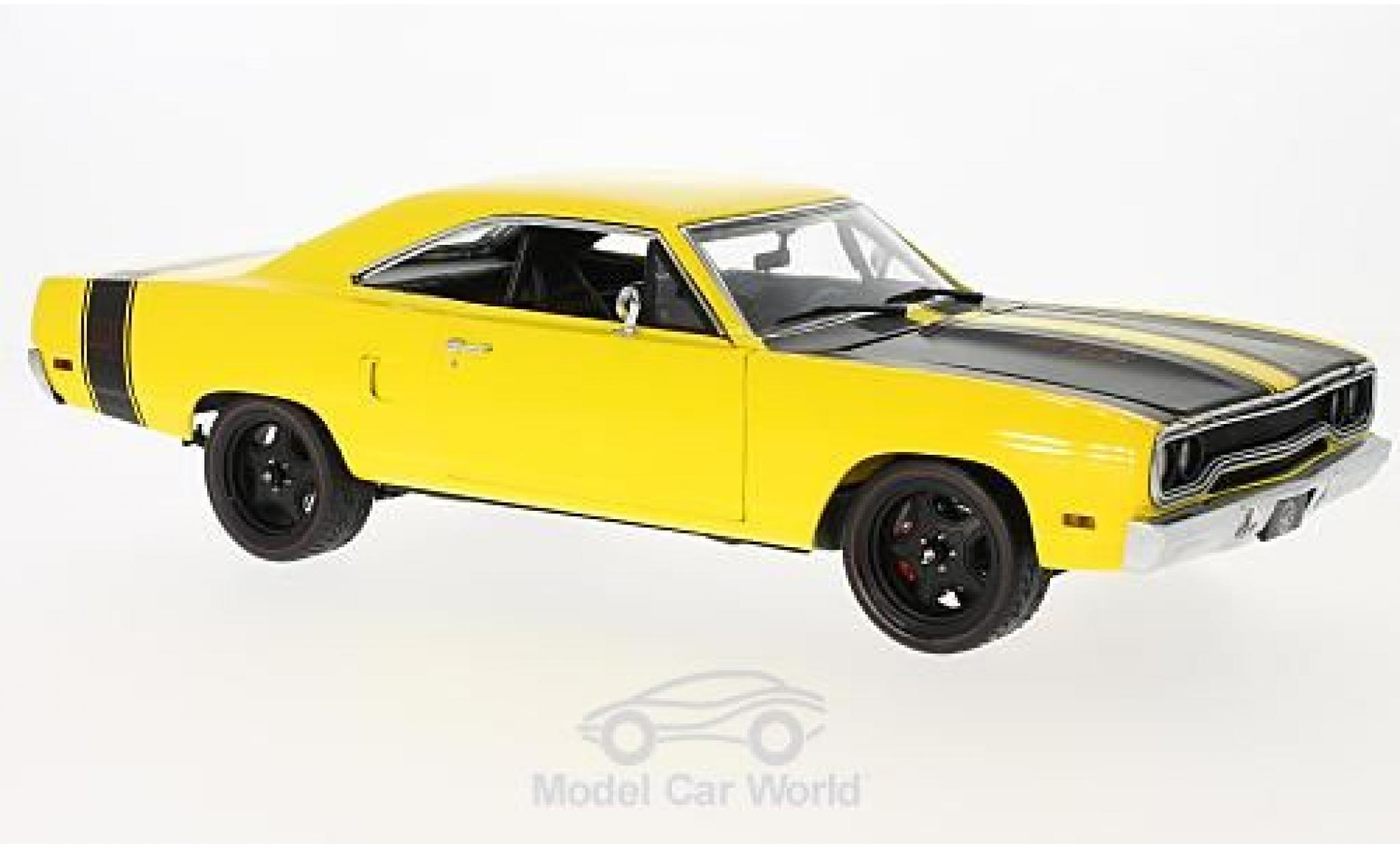 Plymouth Road Runner 1/18 GMP Street Fighter 6-Pack Attack jaune 1970