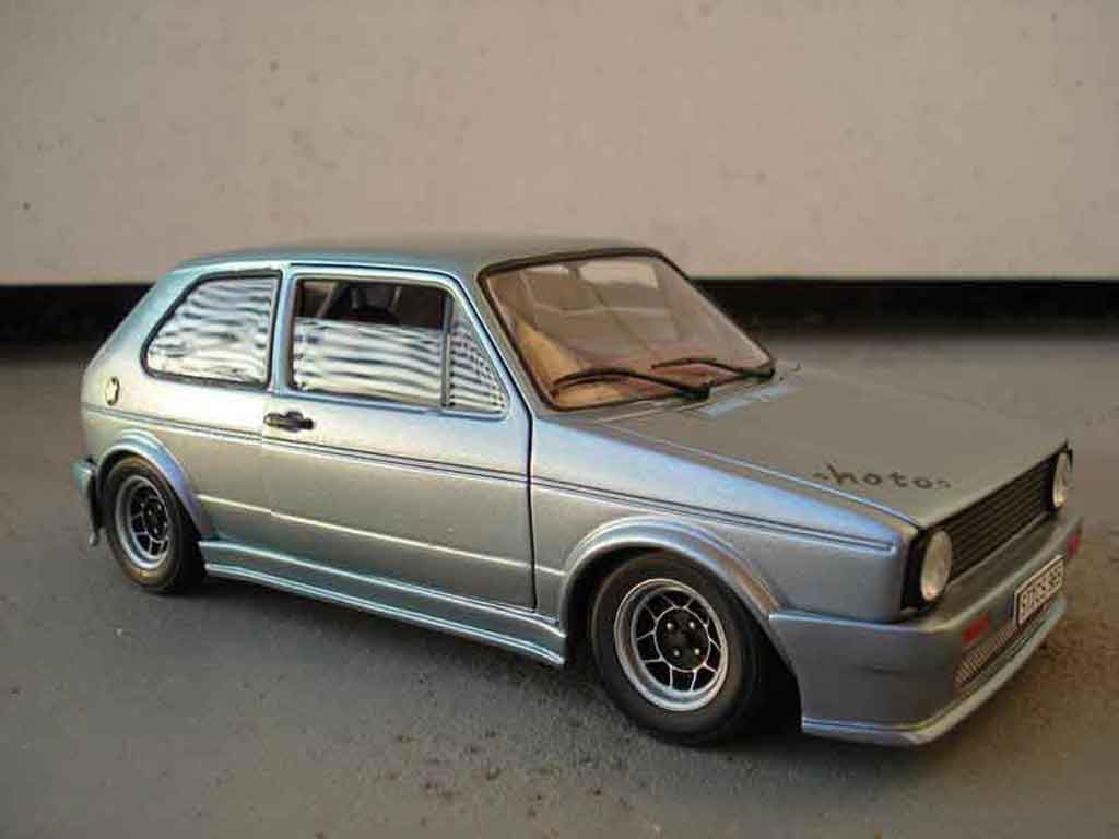Volkswagen Golf 1 GTI 1/18 Solido jantes ATS kit carrosserie resine tuning diecast model cars