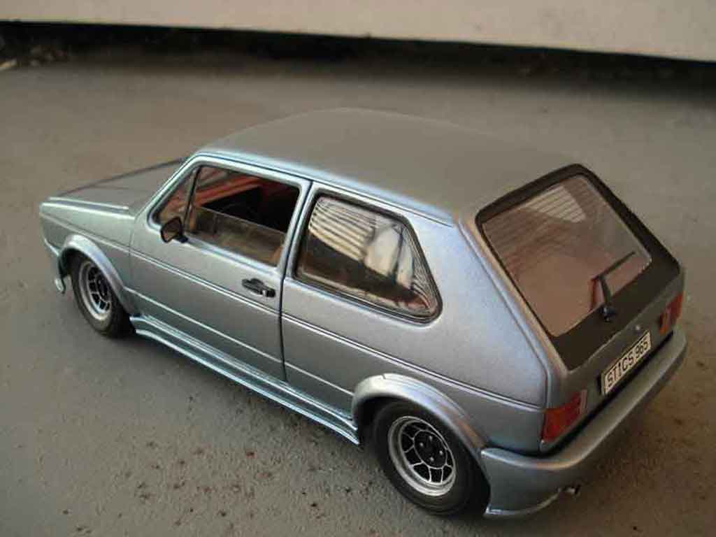 Volkswagen Golf 1 GTI 1/18 Solido jantes ATS kit carrosserie resine