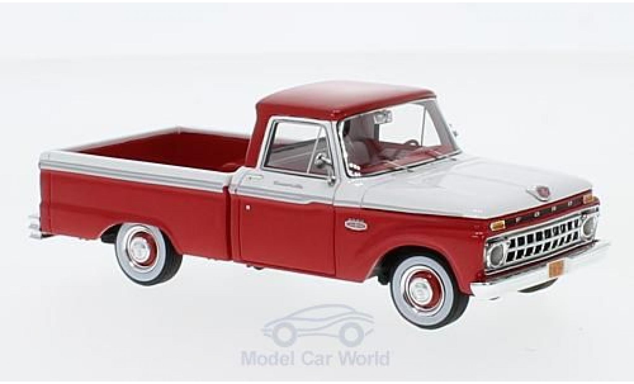 Ford F-1 1/43 Goldvarg Collections 00 Pick Up rouge/blanche 1965