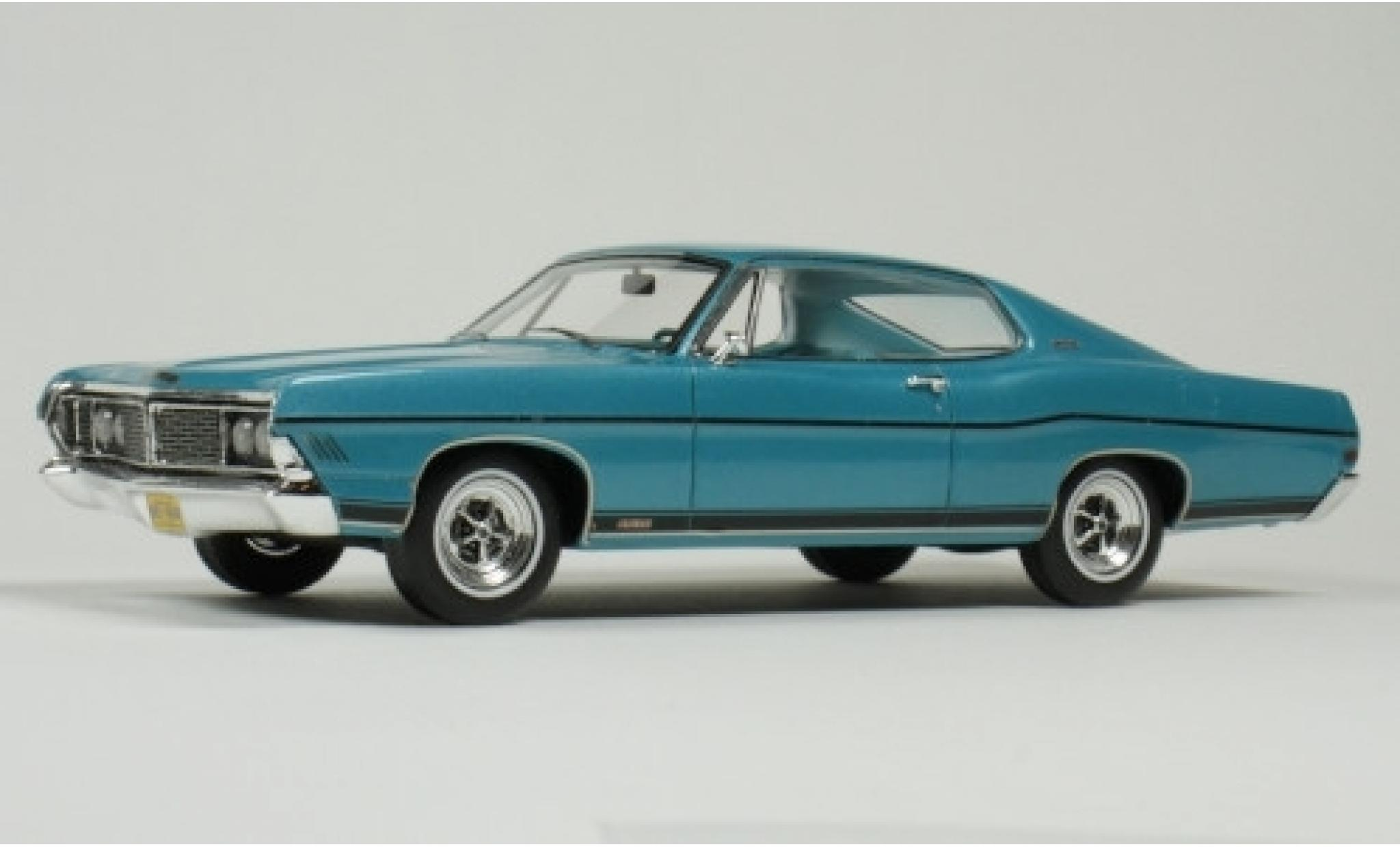 Ford Galaxy 1/43 Goldvarg Collections Galaxie 500 XL metallise turquoise 1968