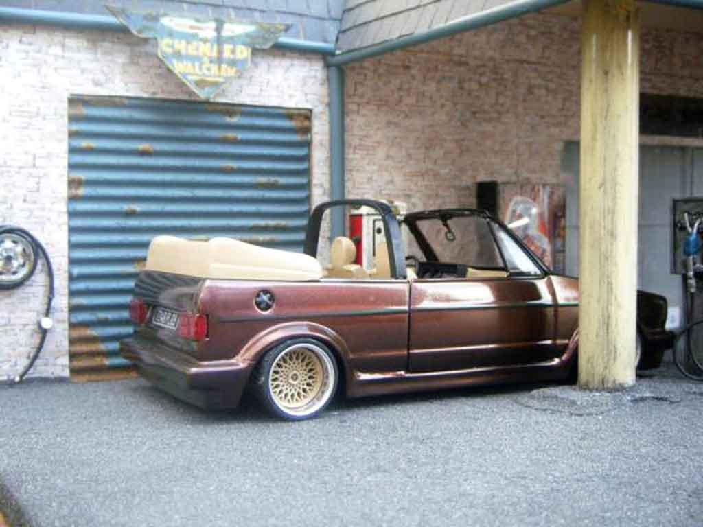 Volkswagen Golf 1 Cabriolet Miniature Karmann Sun Star 1 18 Voiture Miniature Com