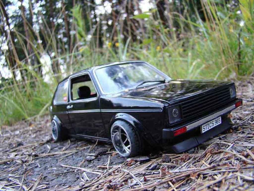 volkswagen golf 1 gti jantes ats miniature german look solido 1 18 voiture. Black Bedroom Furniture Sets. Home Design Ideas
