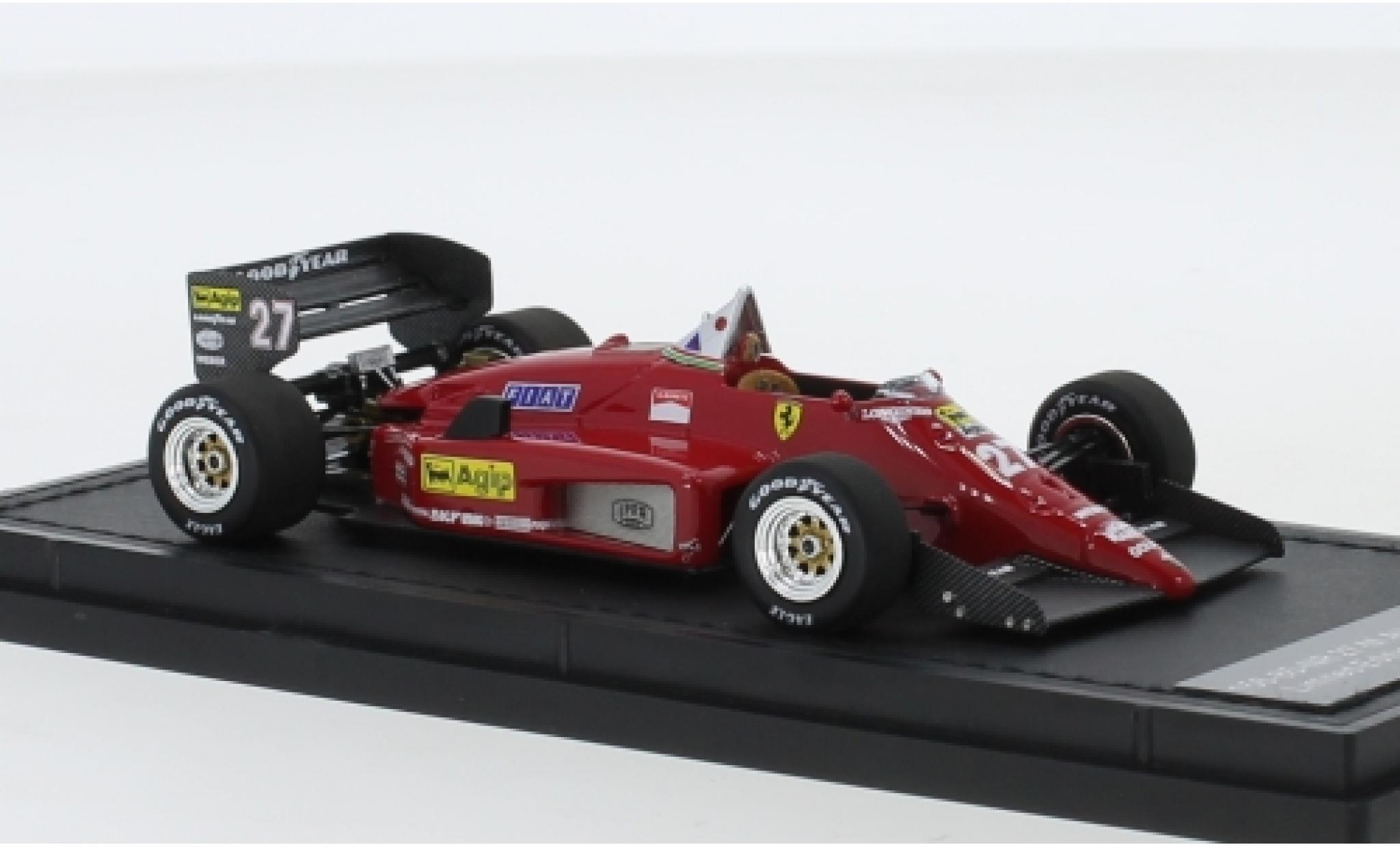 Ferrari 156 1/43 GP Replicas /85 No.27 Scuderia Formel 1 1987 M.Alboreto