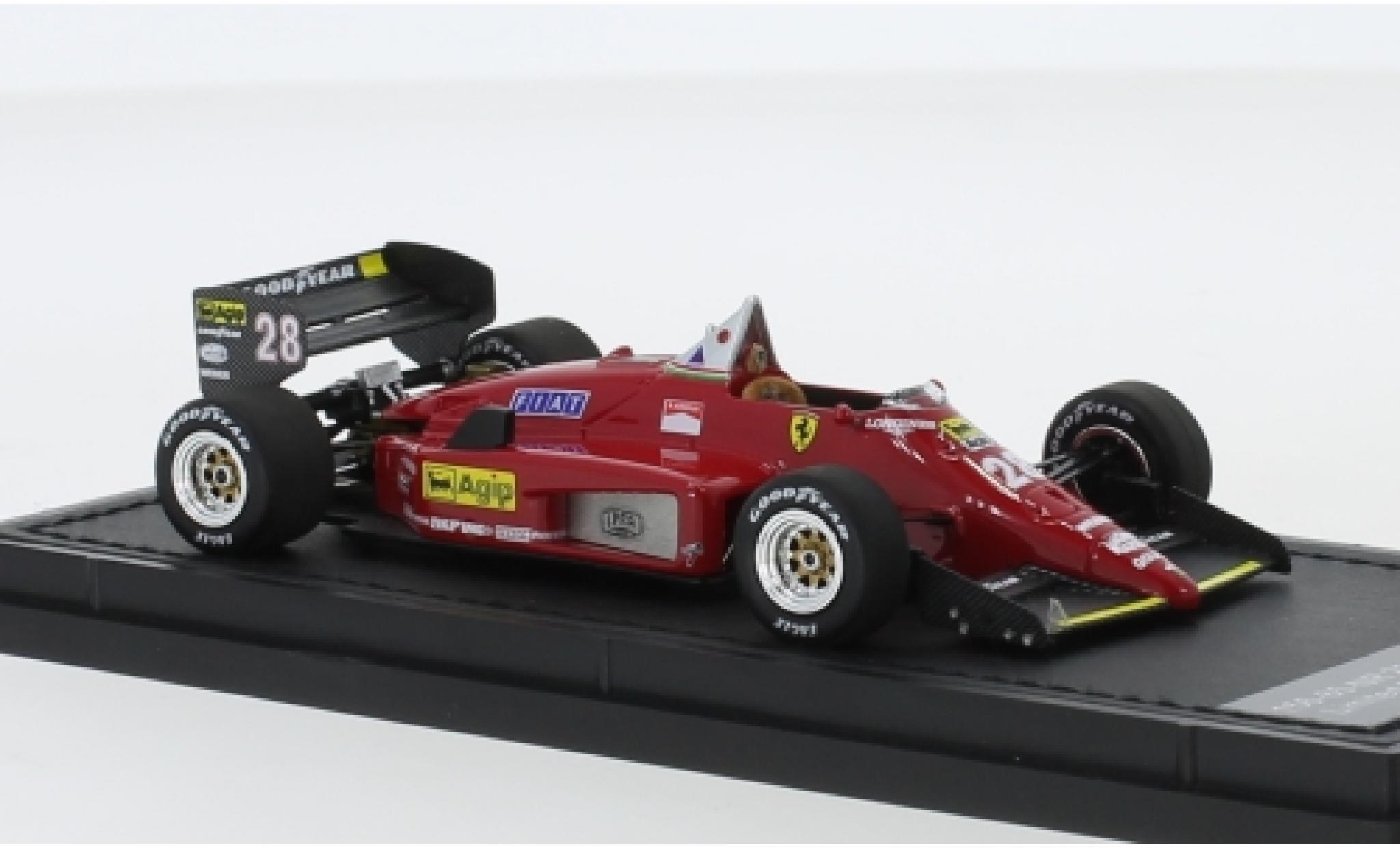 Ferrari 156 1/43 GP Replicas /85 No.28 Scuderia Formel 1 1987 R.Arnoux