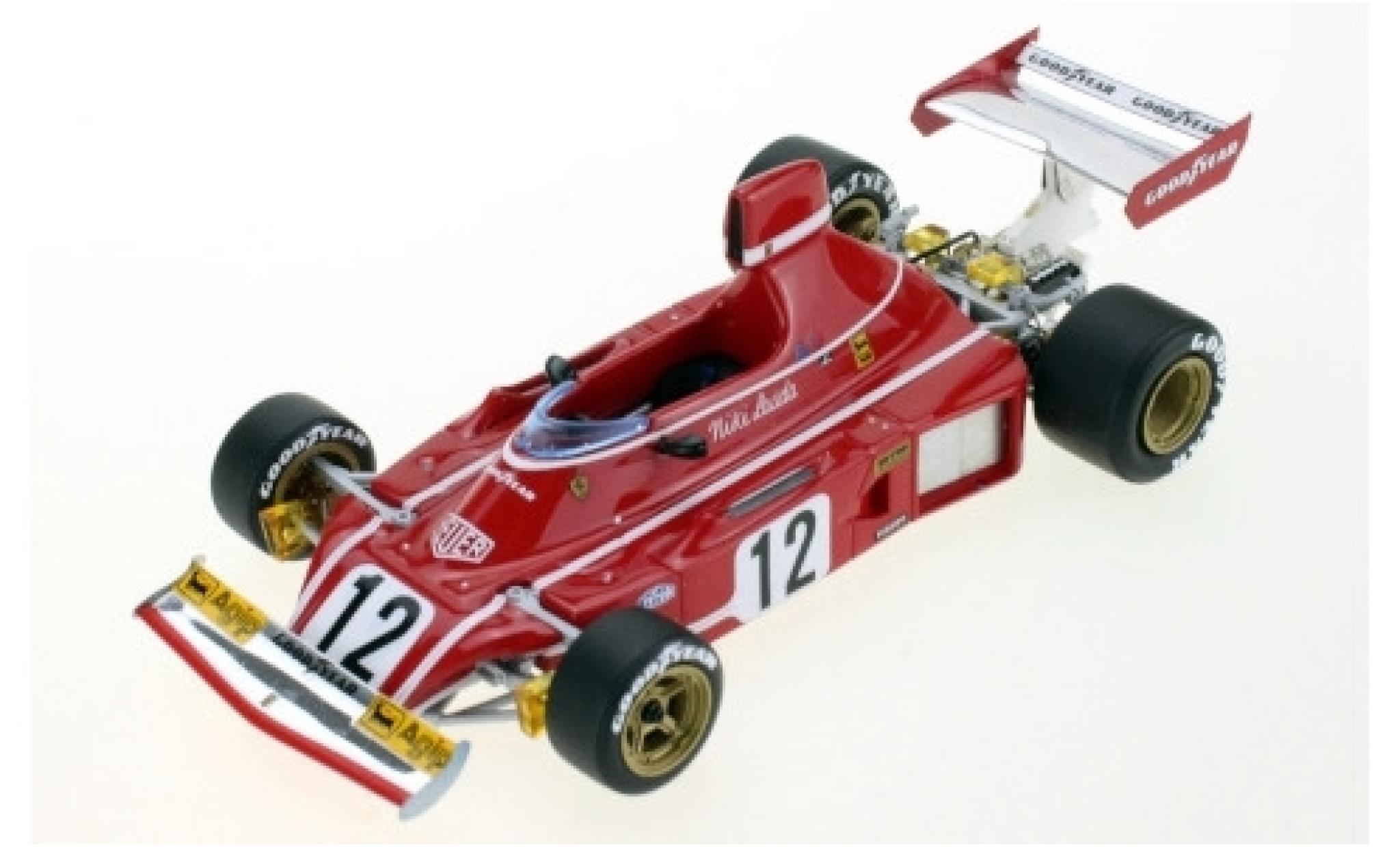 Ferrari 312 1/43 GP Replicas B3 No.12 Scuderia Formel 1 1974 N.Lauda