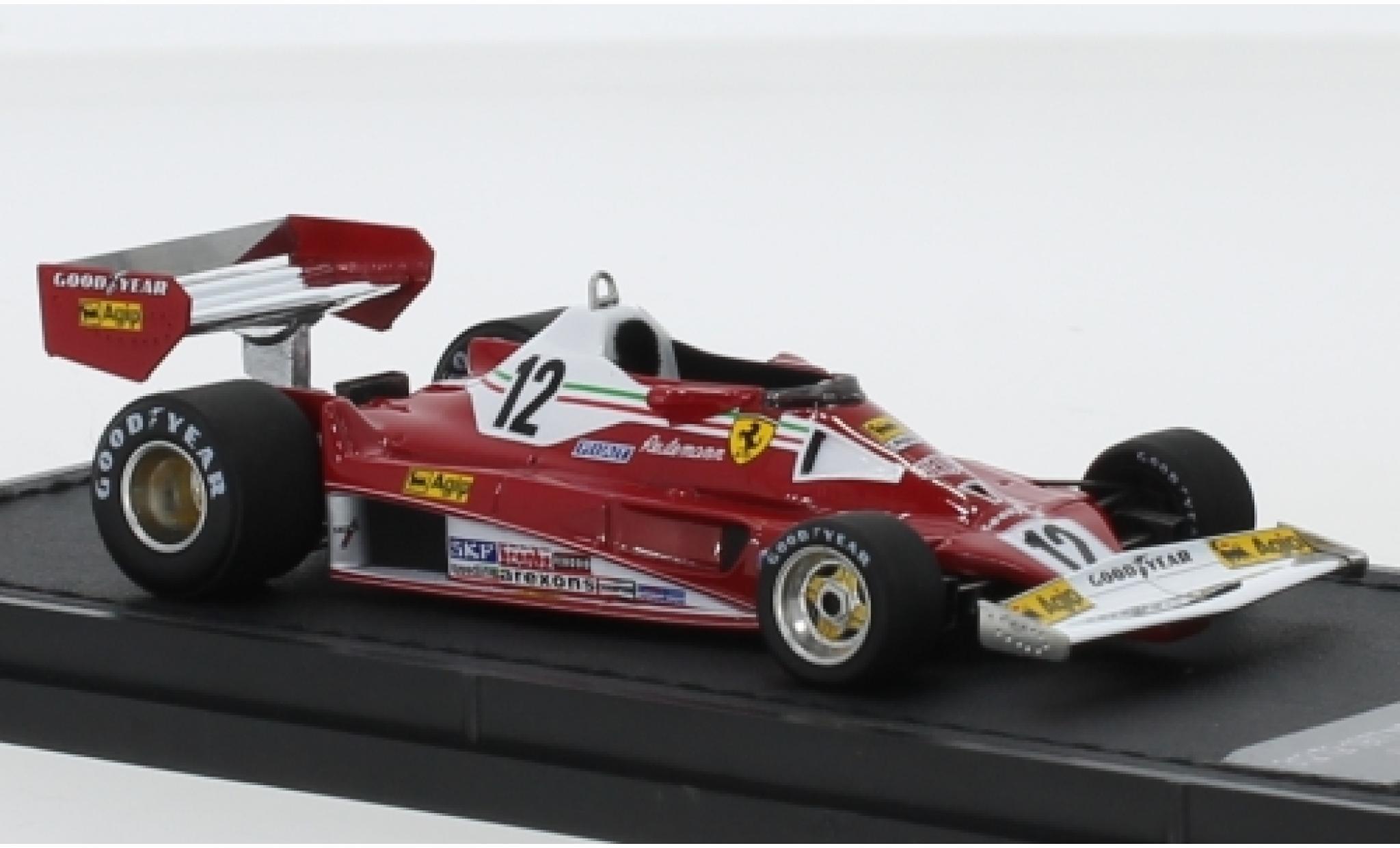 Ferrari 312 1/43 GP Replicas T2 No.12 Scuderia Formel 1 1977 C.Reutemann