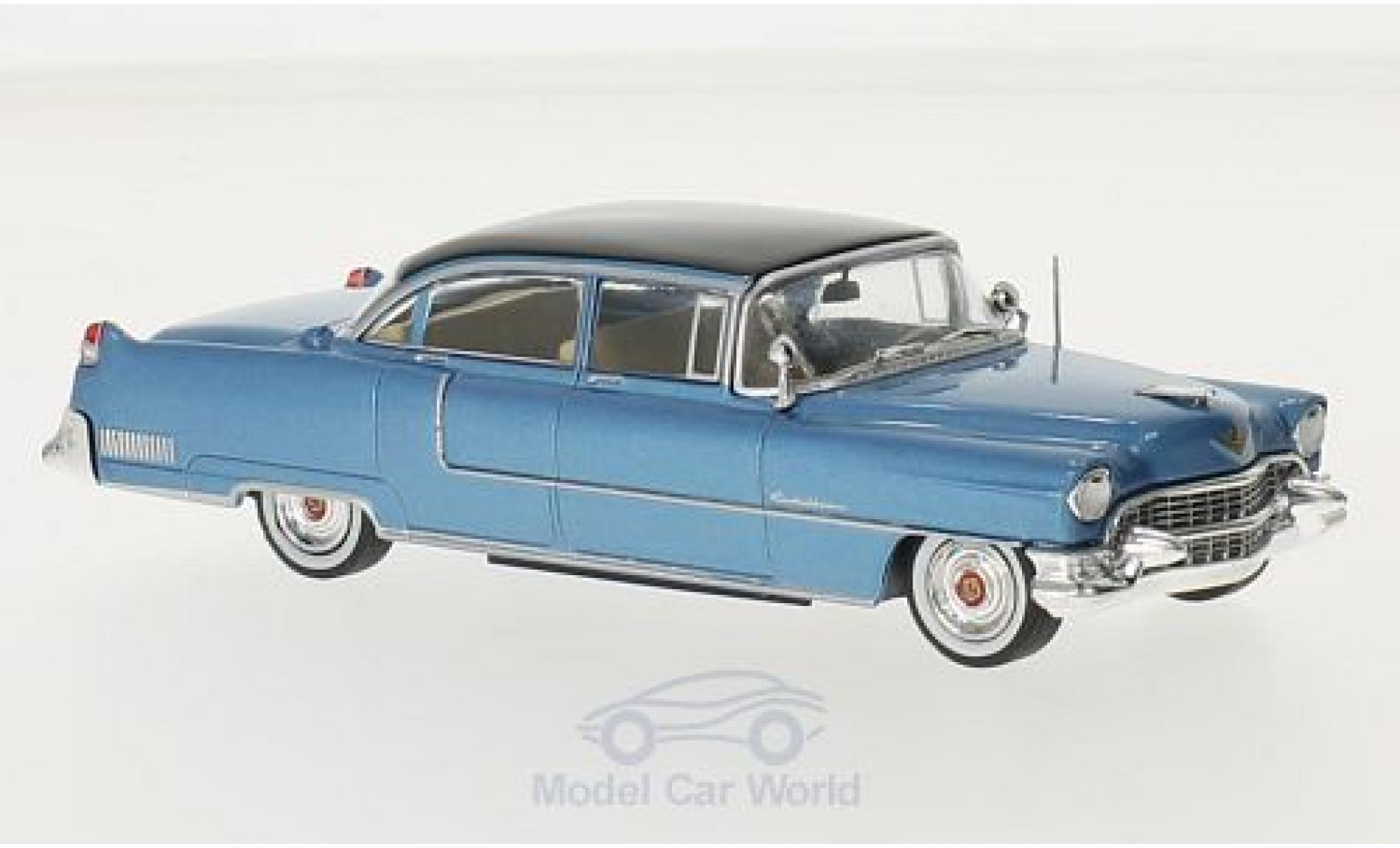 Cadillac Fleetwood 1/43 Greenlight Series 60 metallise blue Elvis Presley 1955