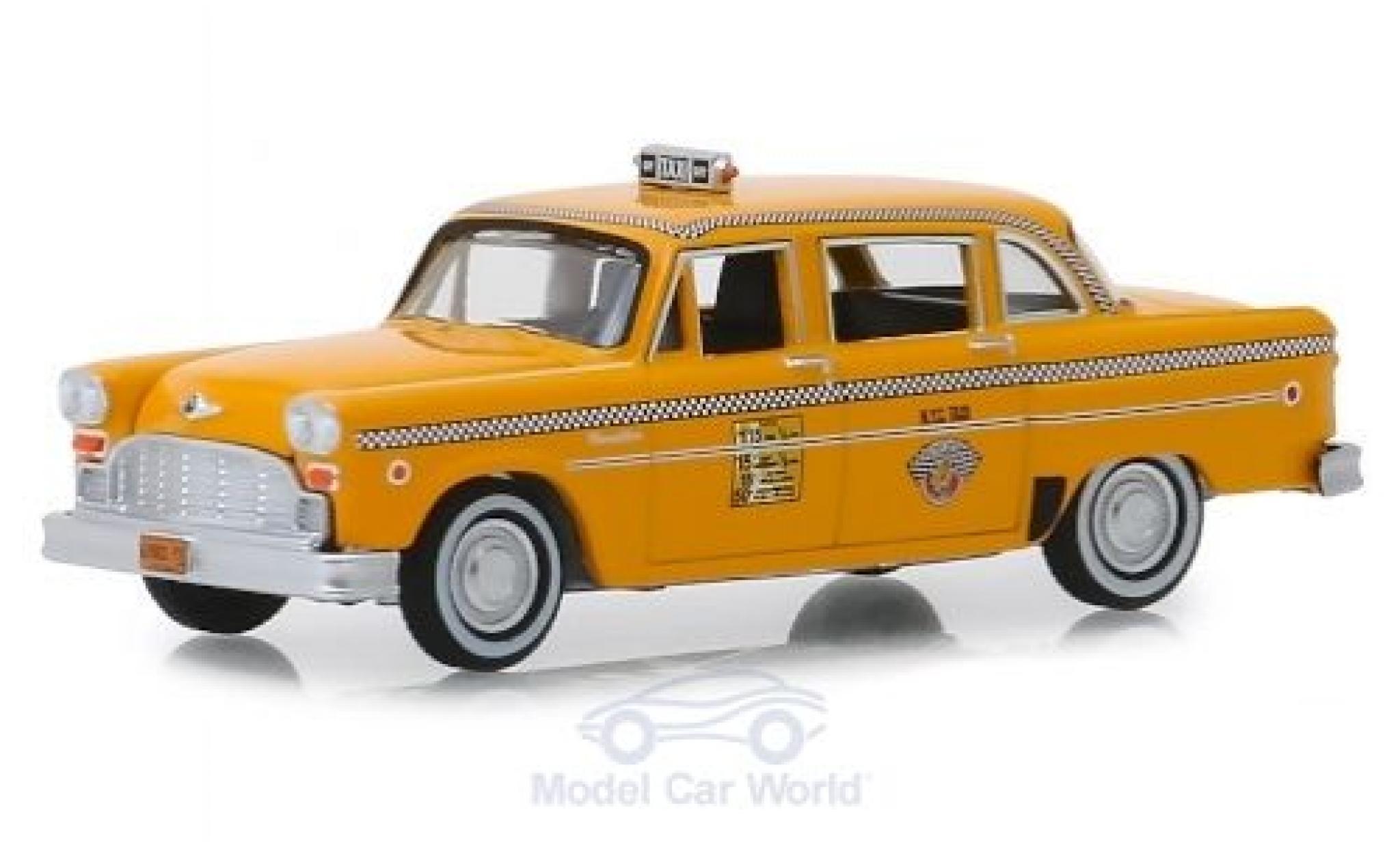 Checker Marathon 1/64 Greenlight A11 N.Y.C. Taxi 1981