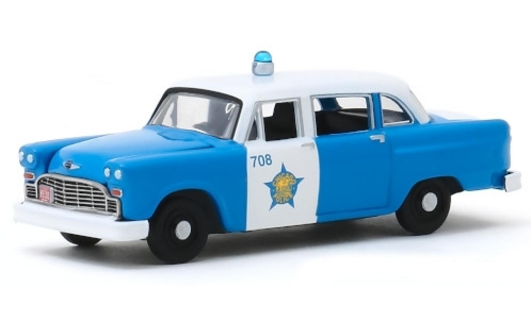 Checker Marathon 1/64 Greenlight Chicago Police Department 1961