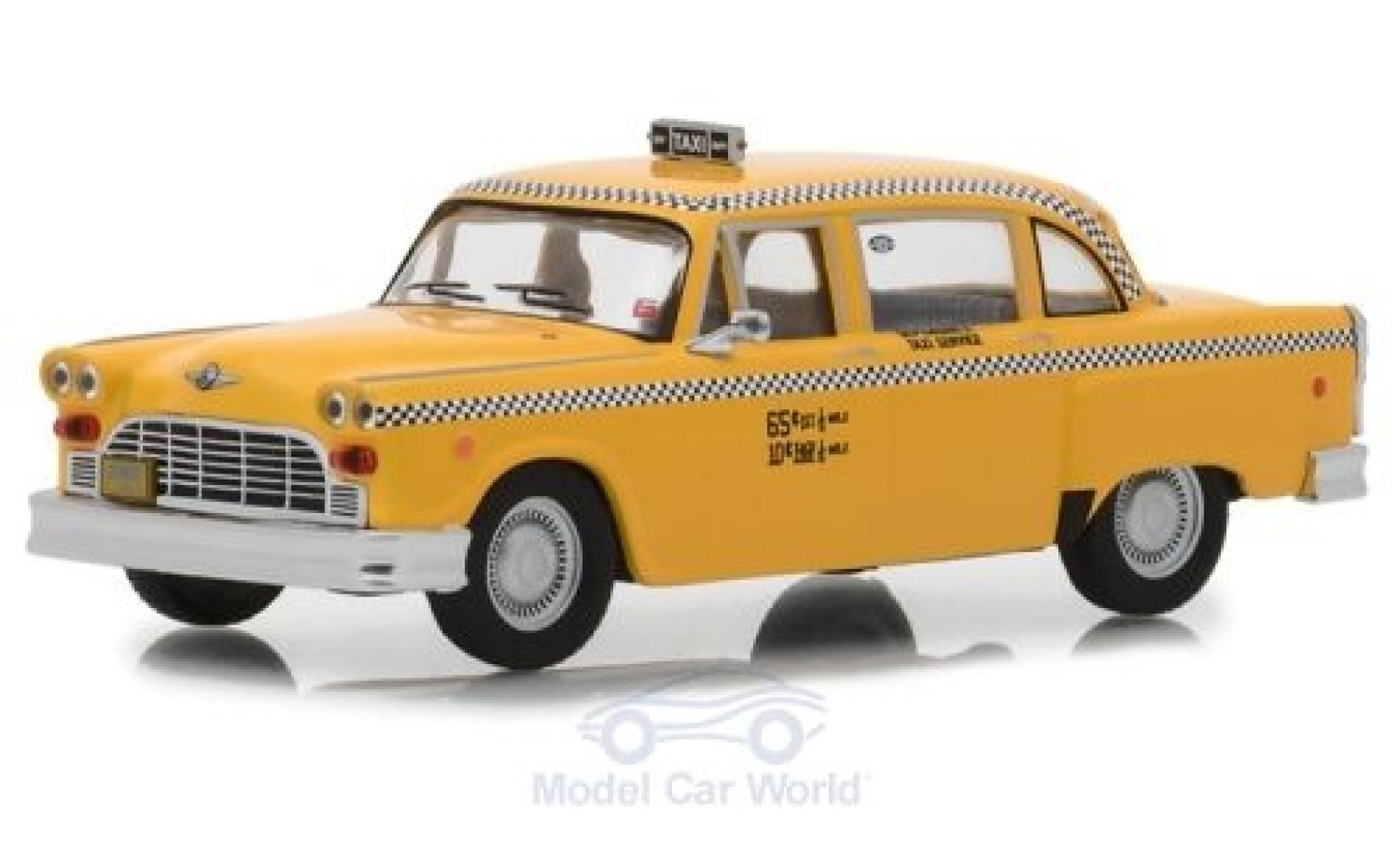 Checker Marathon 1/43 Greenlight Taxi Taxi Driver 1975