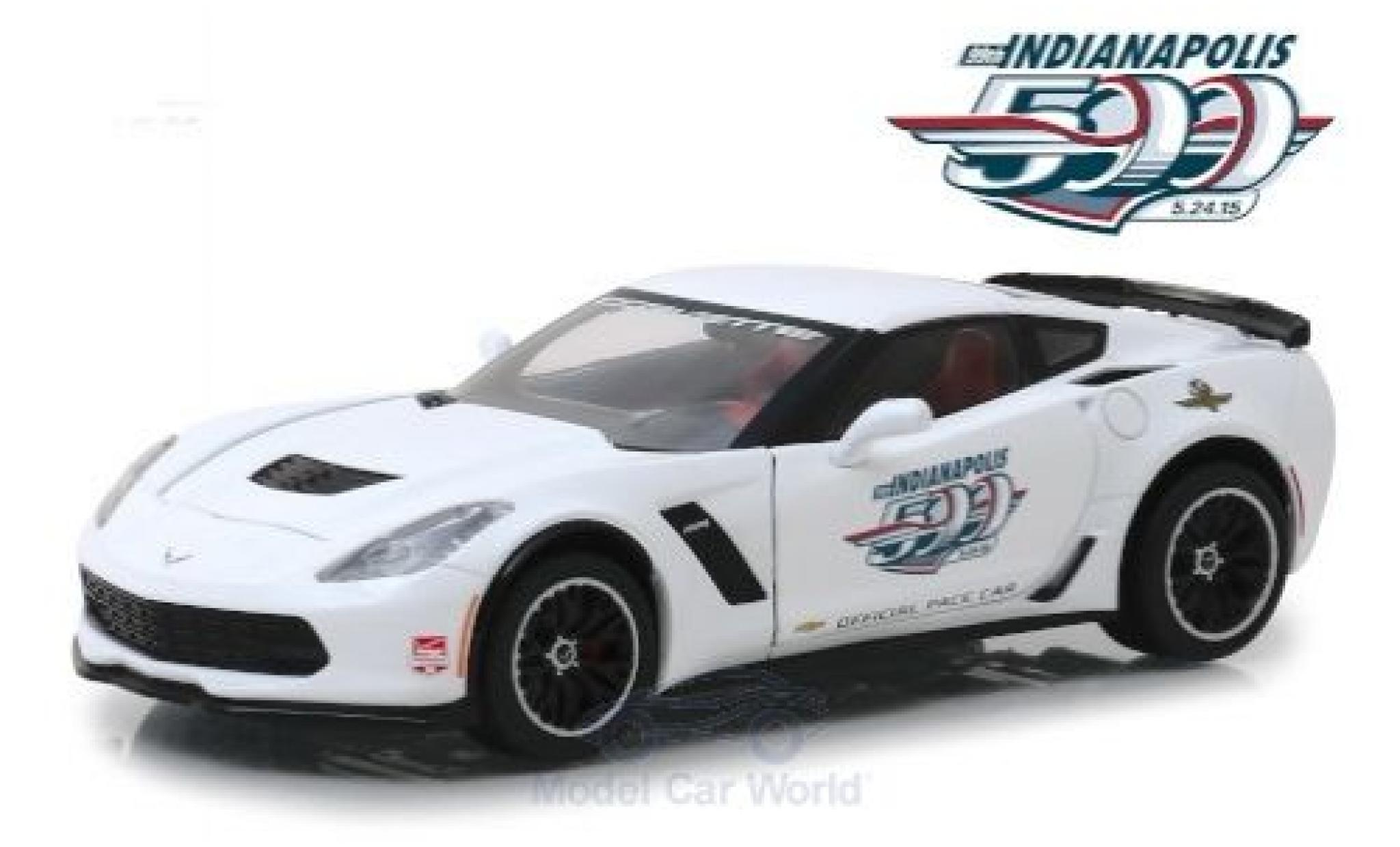 Chevrolet Corvette 1/24 Greenlight Z06 Indianapolis 500 2015 Official Pace Car
