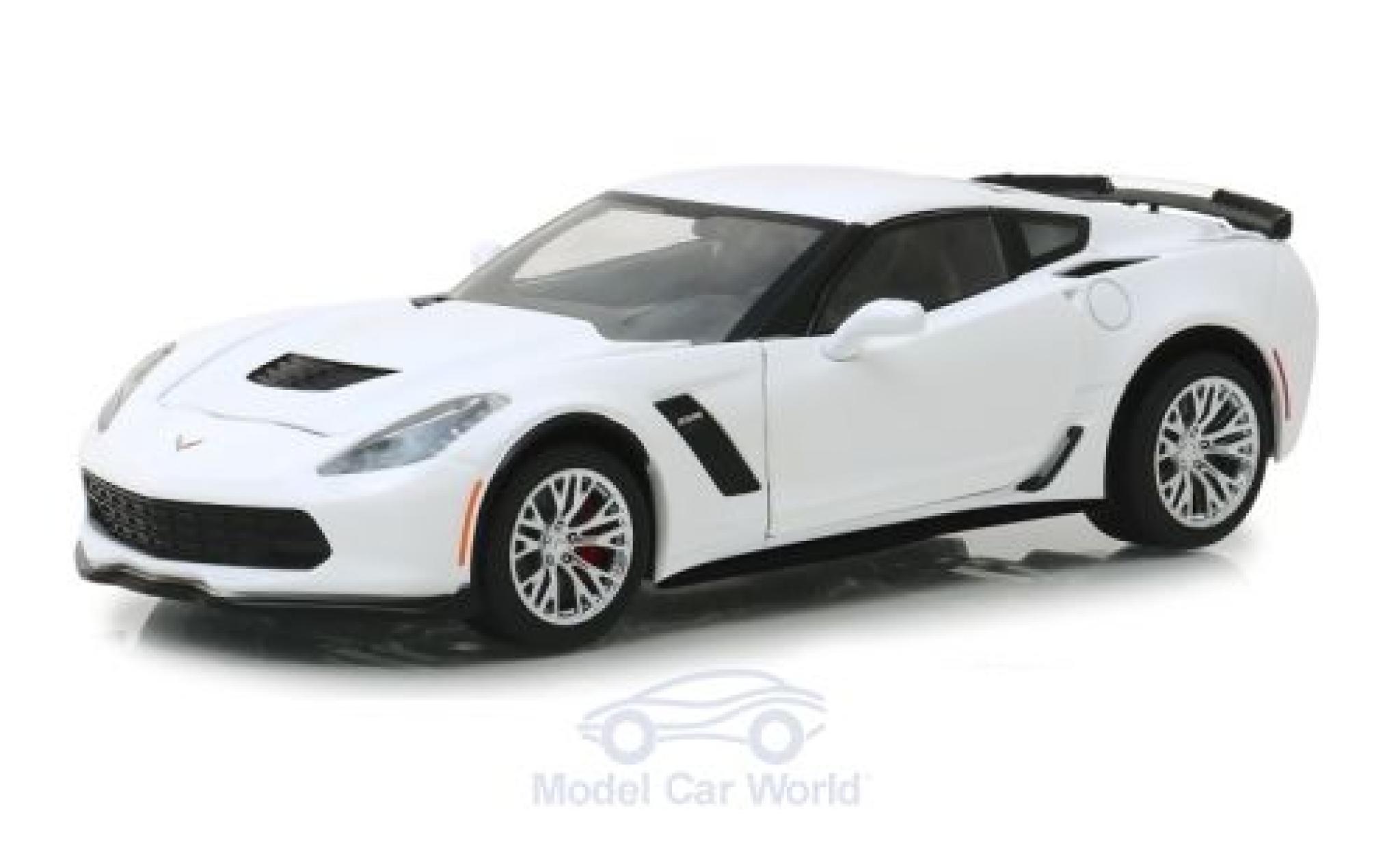 Chevrolet Corvette 1/24 Greenlight Z06 white 2019