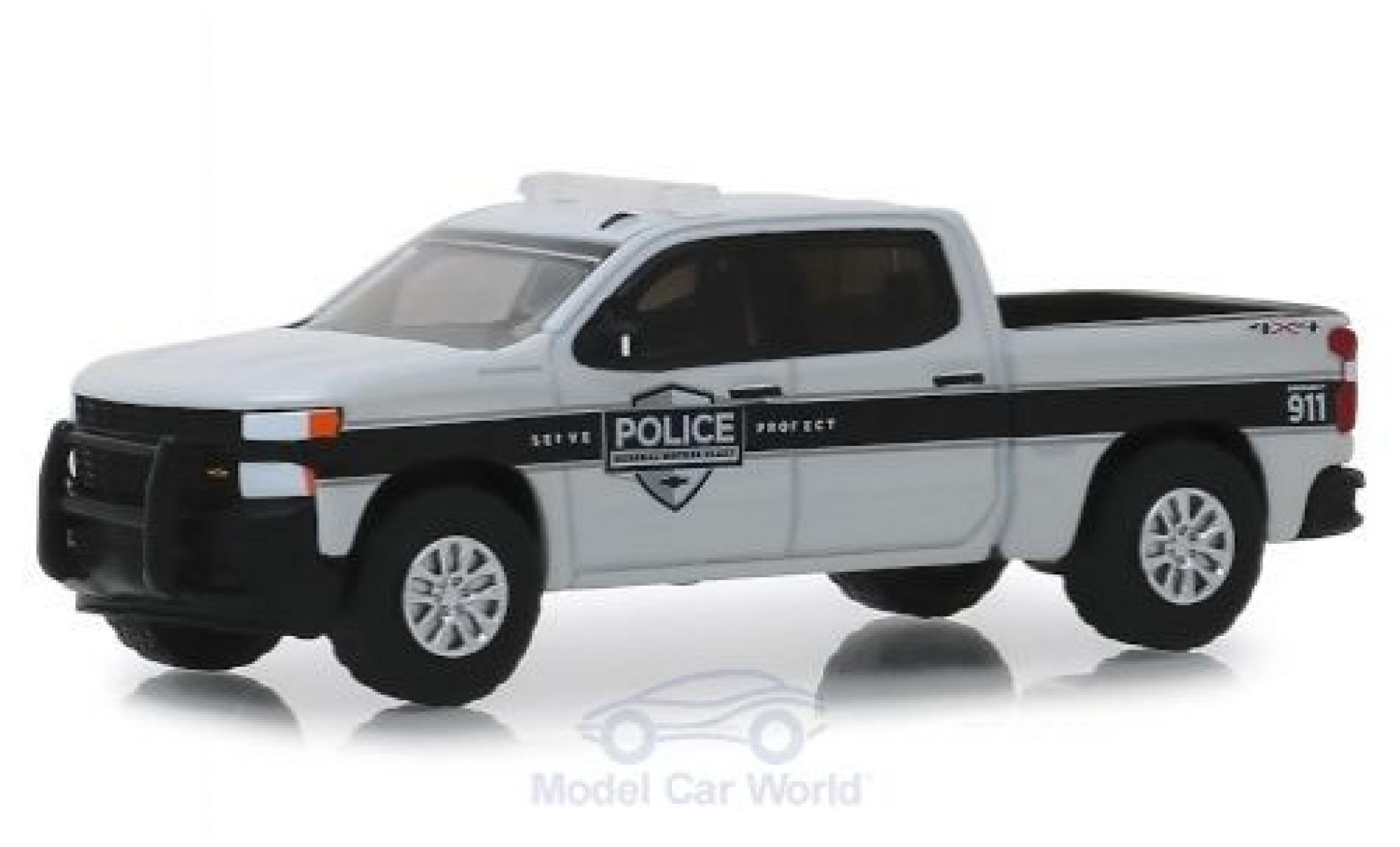 Chevrolet Silverado 1/64 Greenlight SSV General Motors Fleet Police 2019