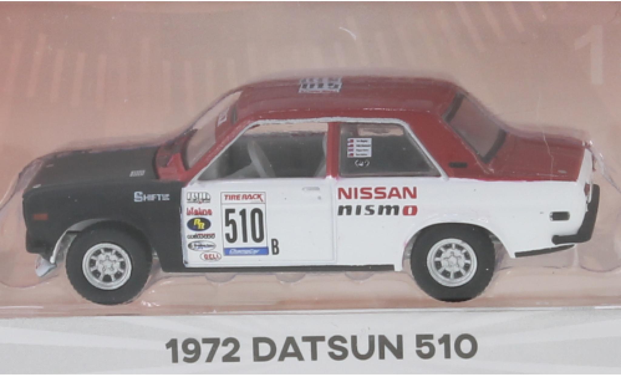 Datsun 510 1/64 Greenlight No.B 1972 2-Door Sedan