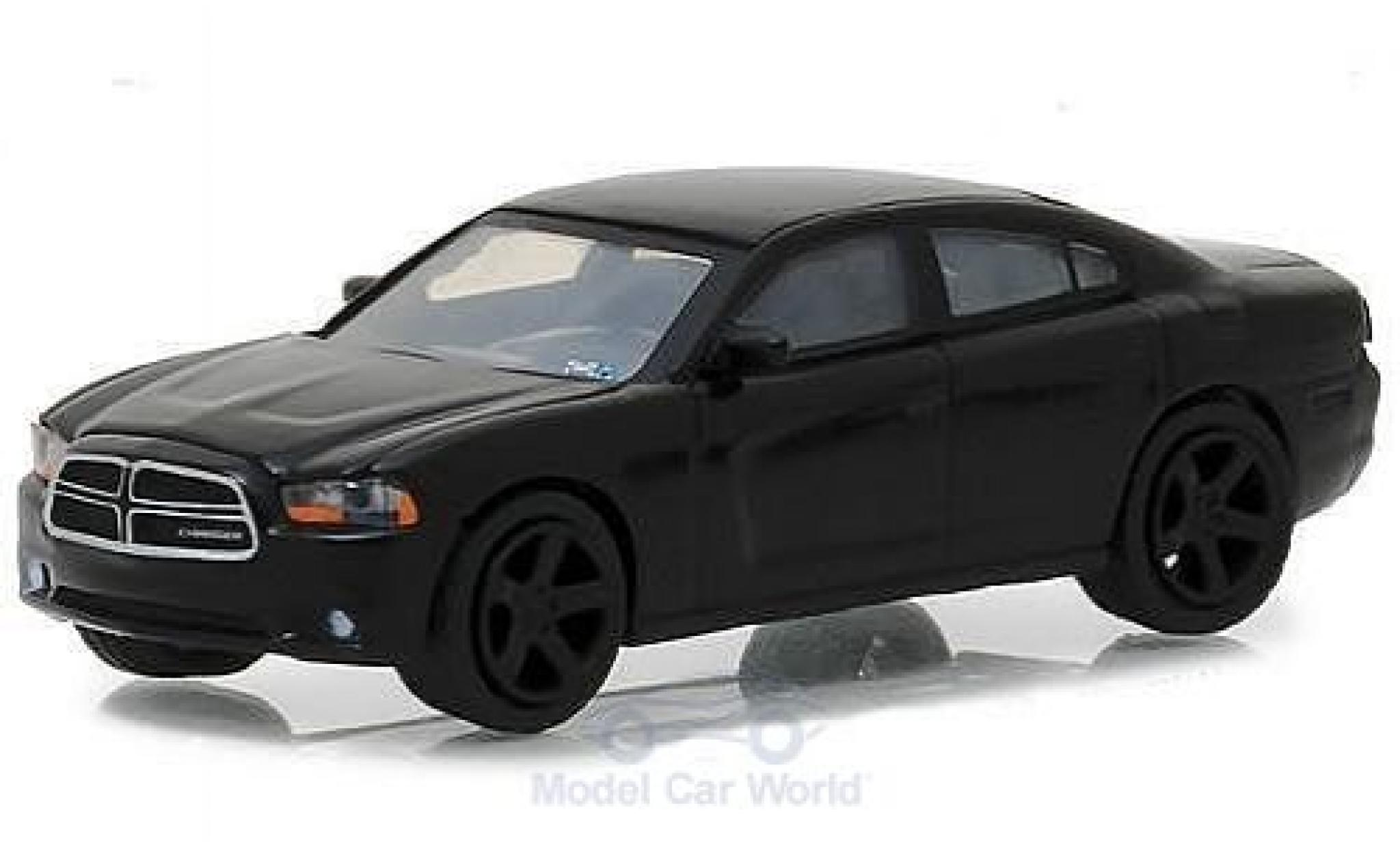Dodge Charger 1/64 Greenlight noire Film John Wick 2011