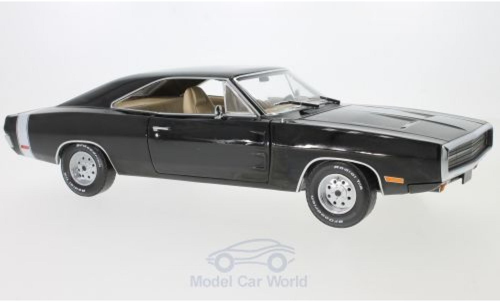 Dodge Charger 1970 1/18 Greenlight black Supernatural TV Series 1970