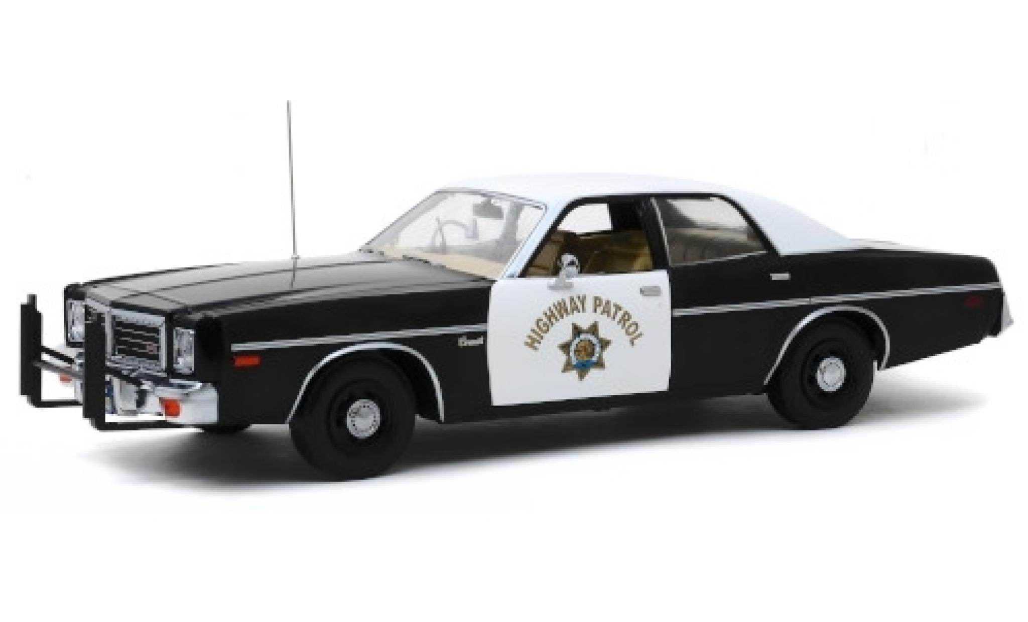Dodge Coronet 1/18 Greenlight California Highway Patrol 1975