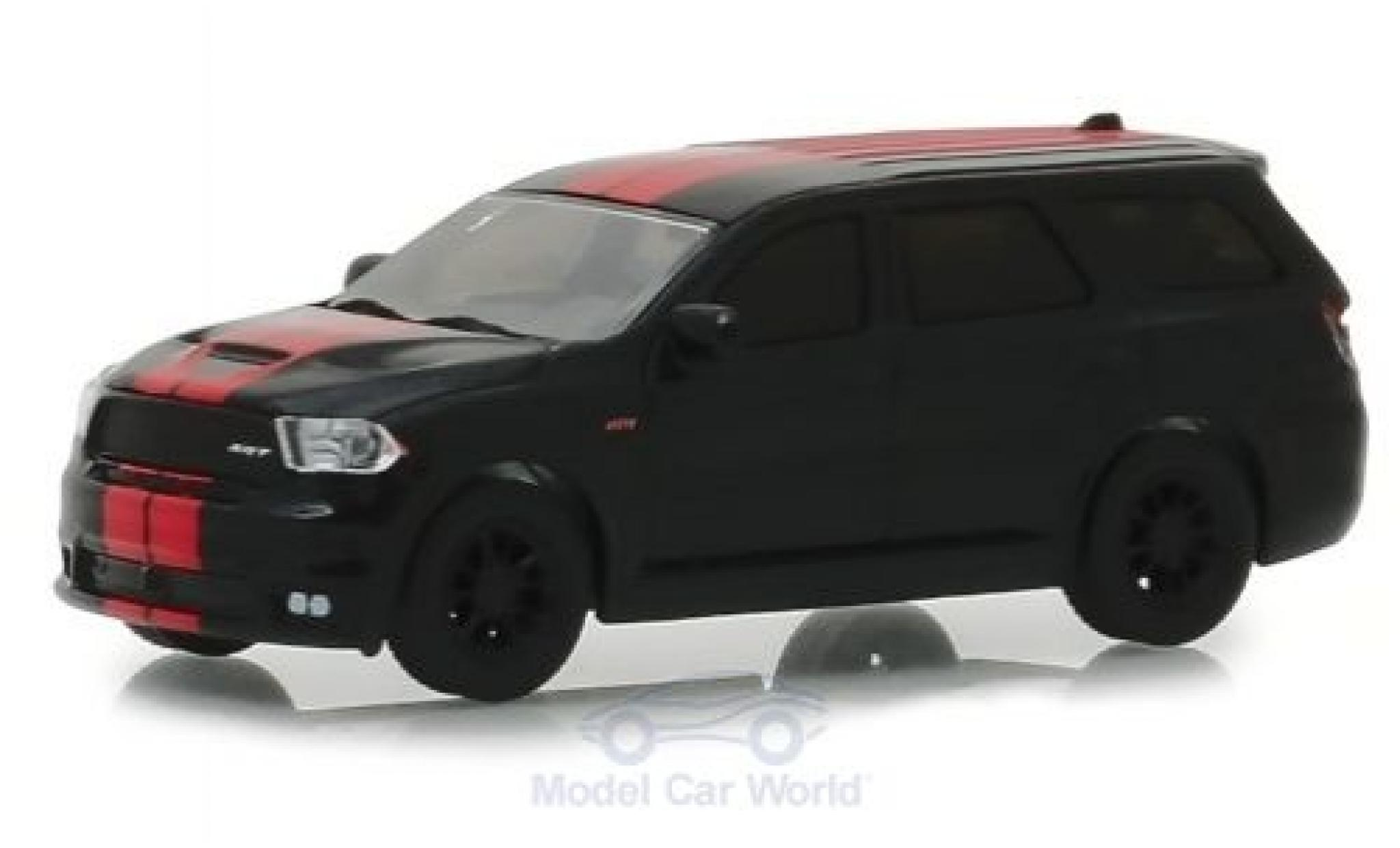 Dodge Durango 1/64 Greenlight SRT 392 black/red 2018